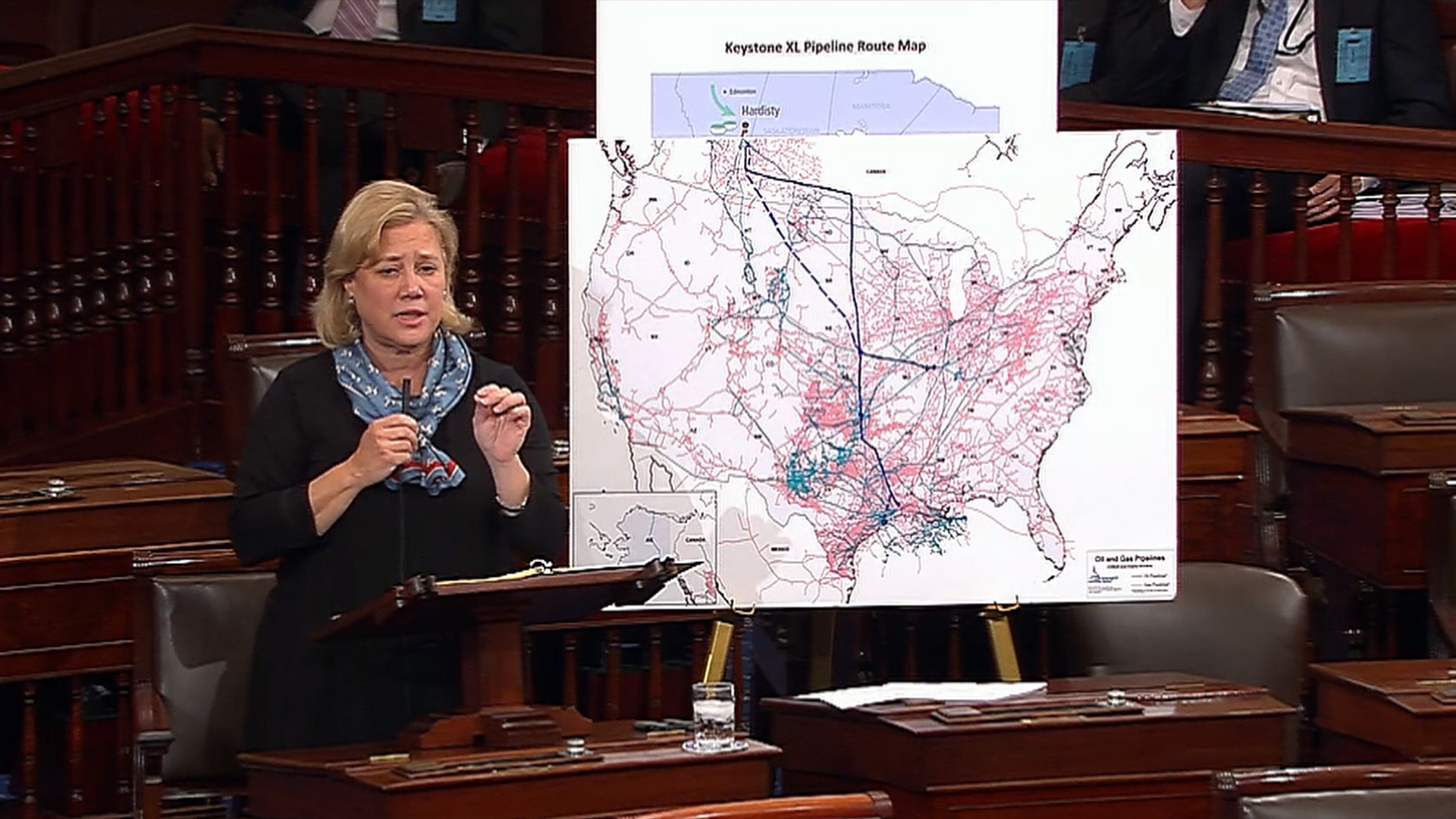 Sen. Landrieu: Build the Keystone Pipeline