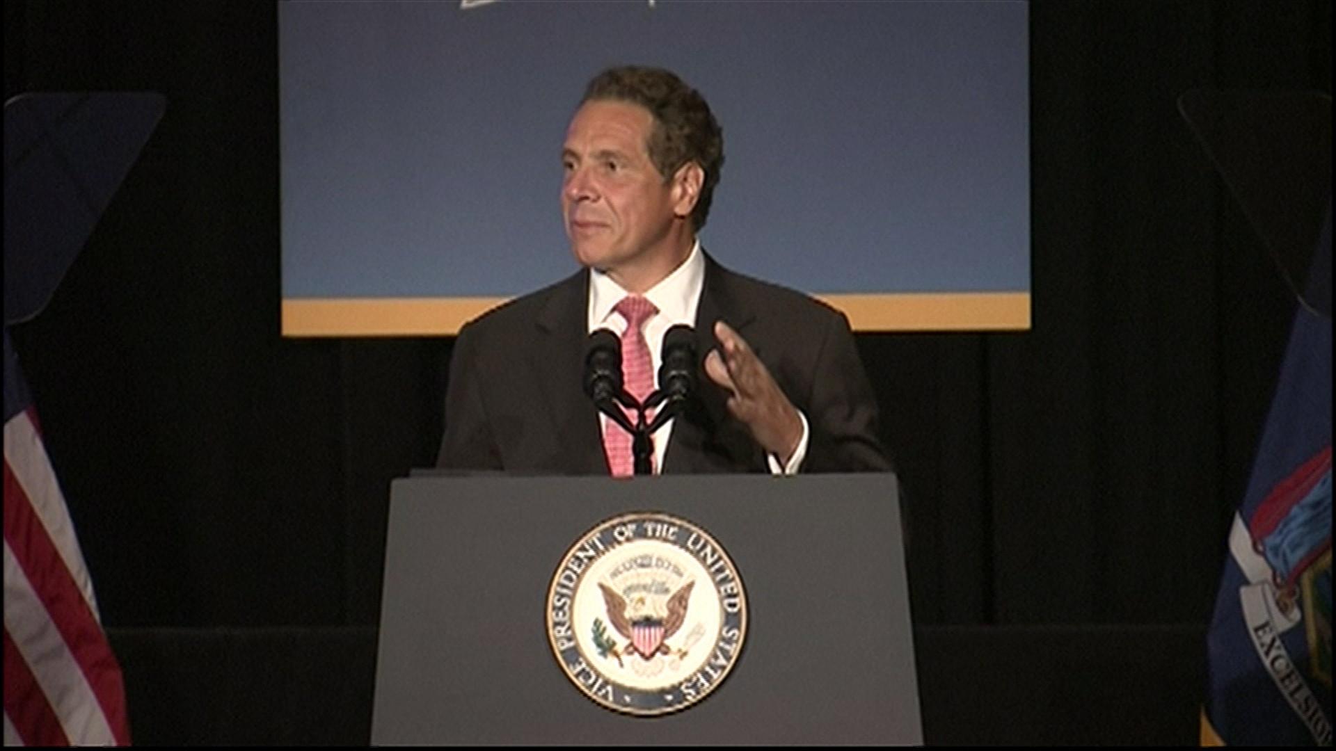 Cuomo, Biden announce NYC airport...