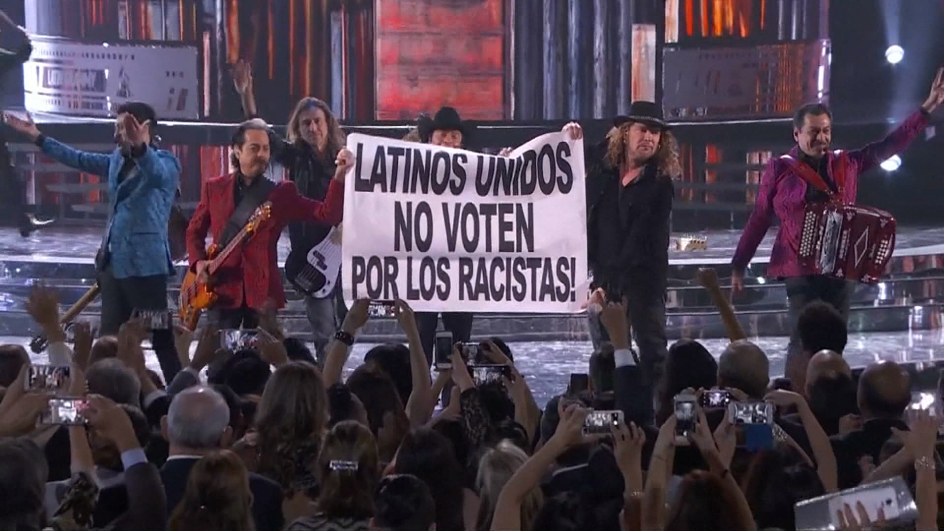 Mexican bands: 'Don't vote for racists'