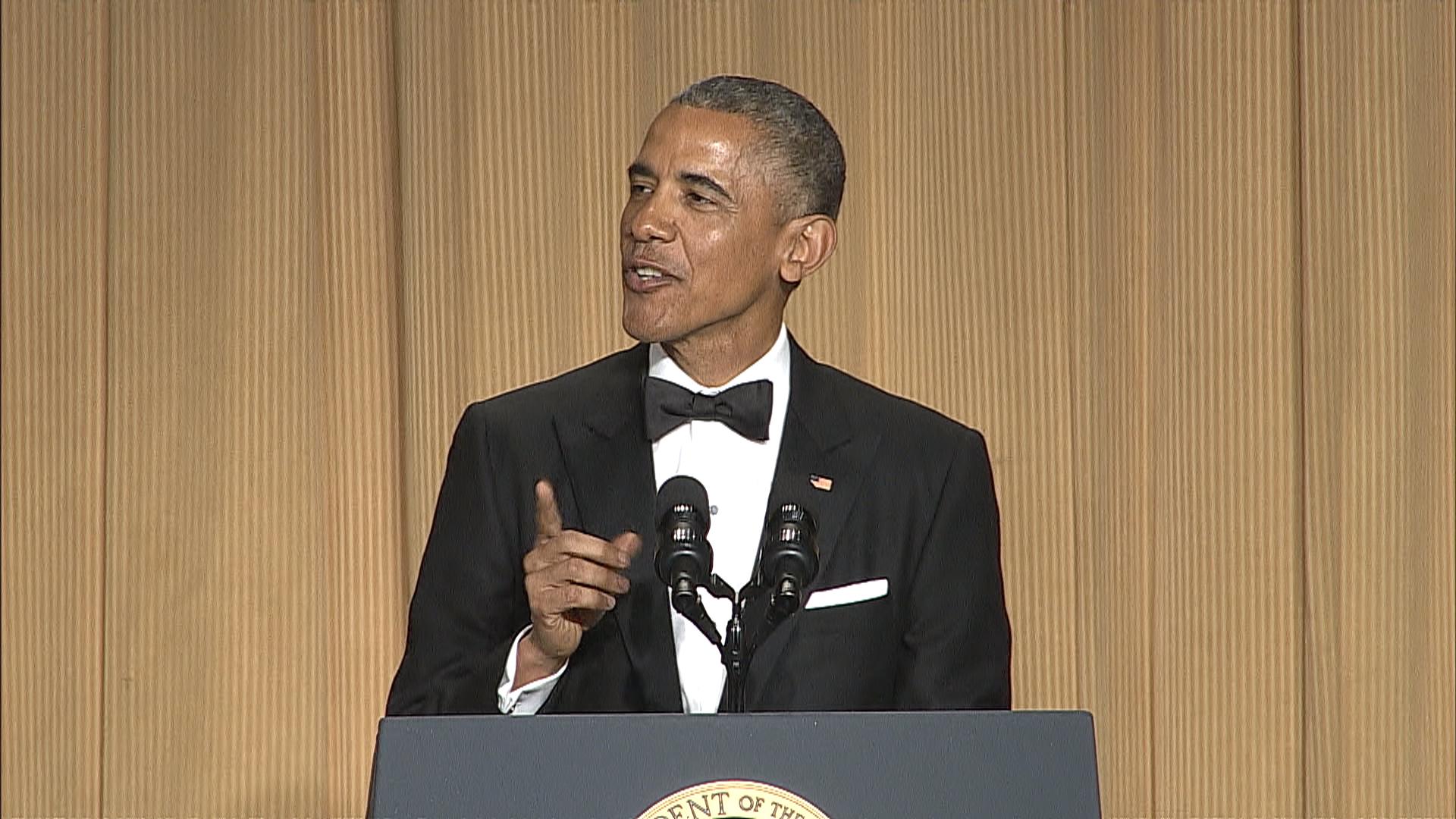 Obama's best 2015 WHCD jokes