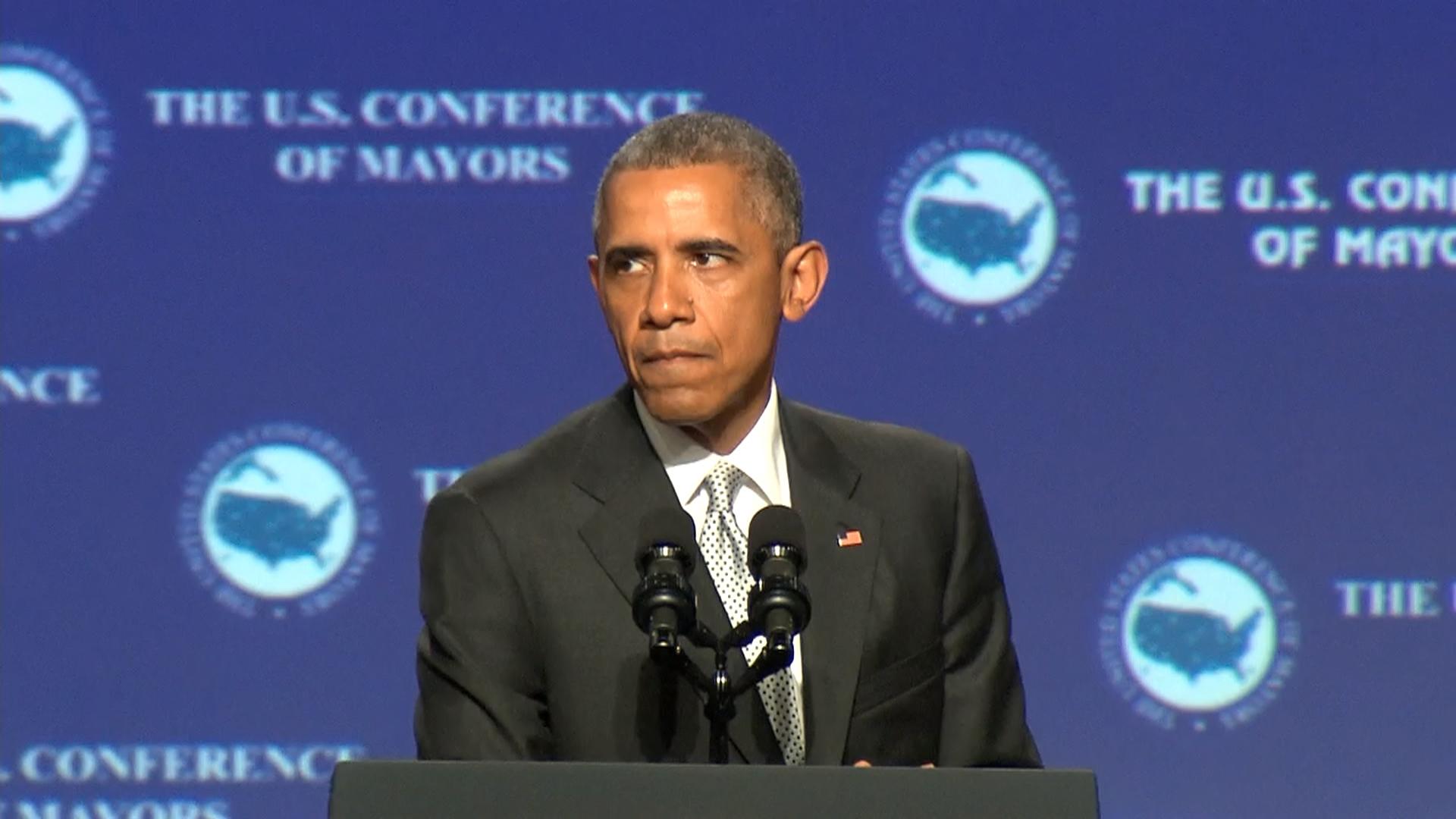 Obama: Sympathy is 'not good enough'