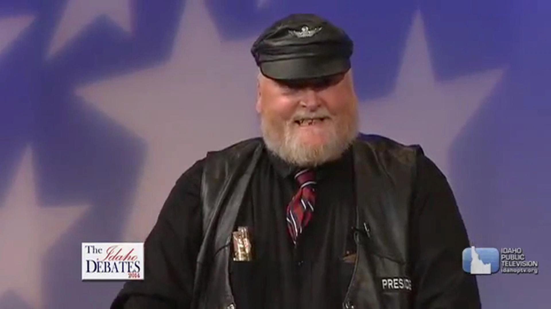 A biker, a cowboy and Idaho's best debate...