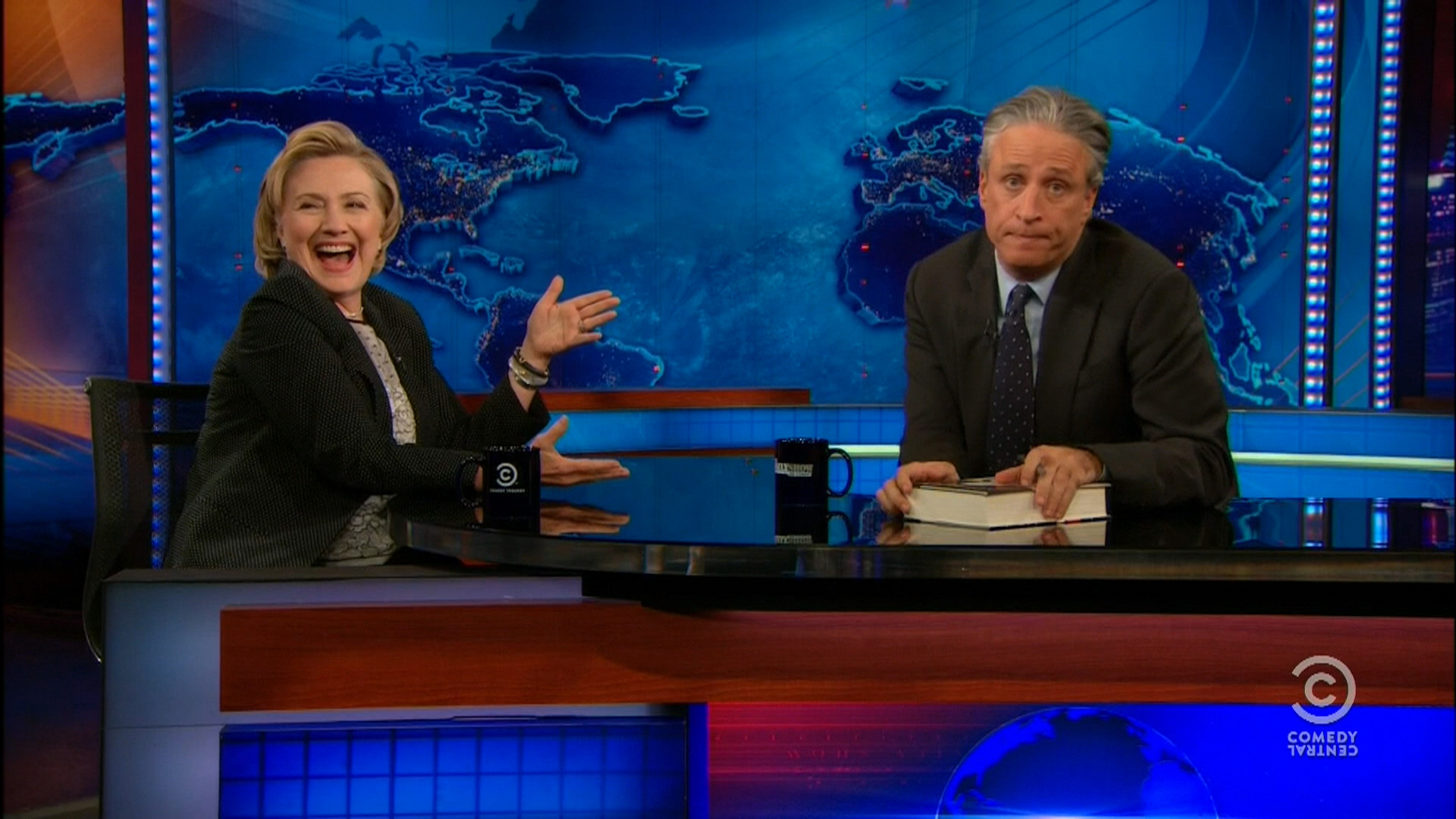 Jon Stewart finds Hillary's dream job