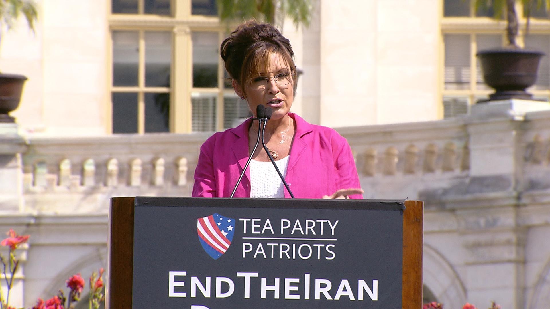 Palin to Congress: 'Dispose' of Iran Deal