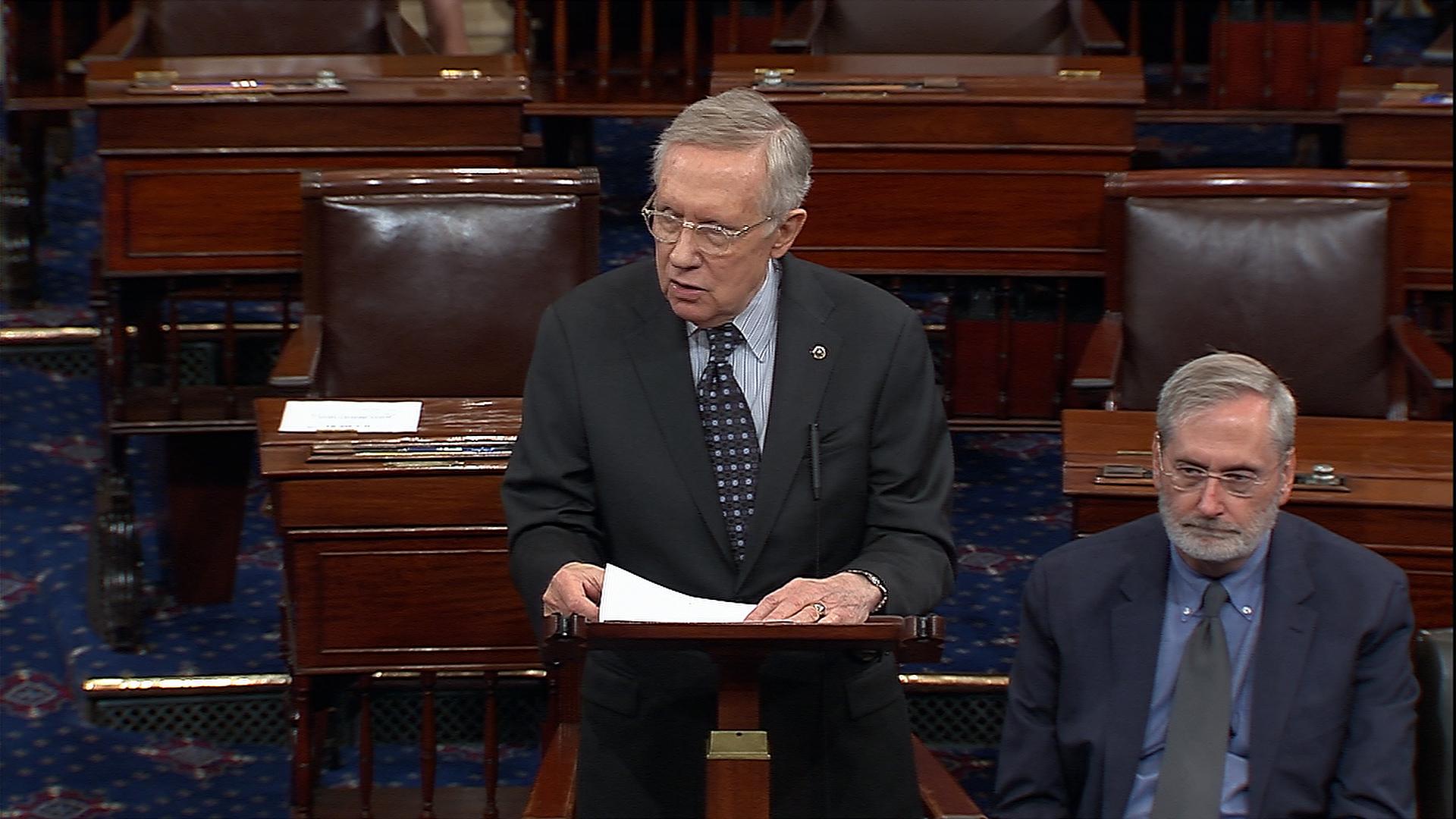 Senator Reid says he 'will miss' Speaker...