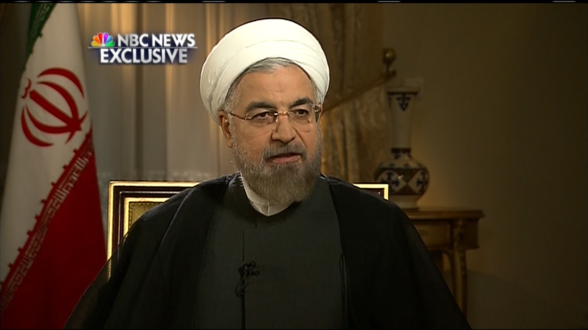 Exclusive: President Rouhani discusses...