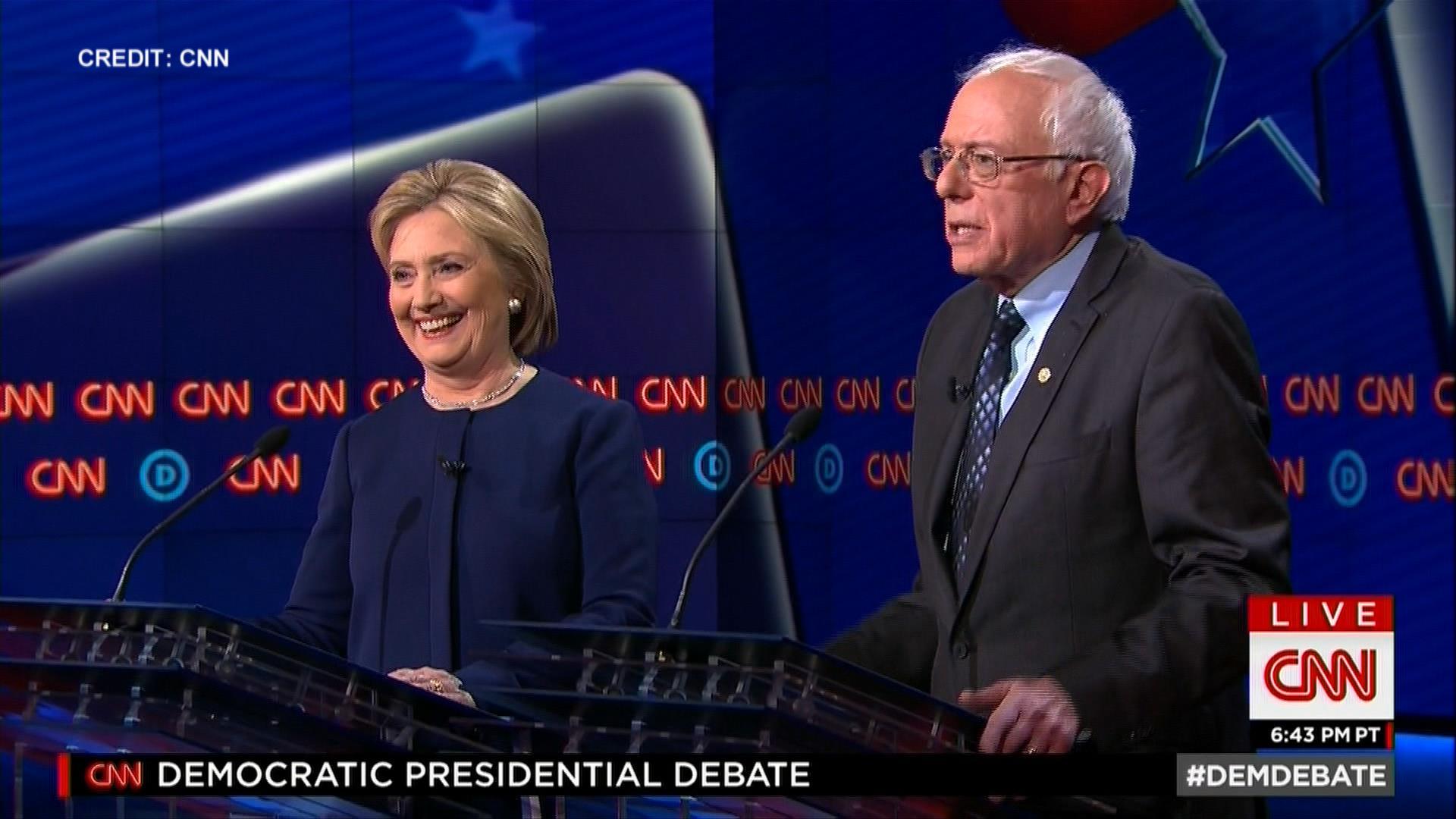 Sanders pokes fun at GOP debates