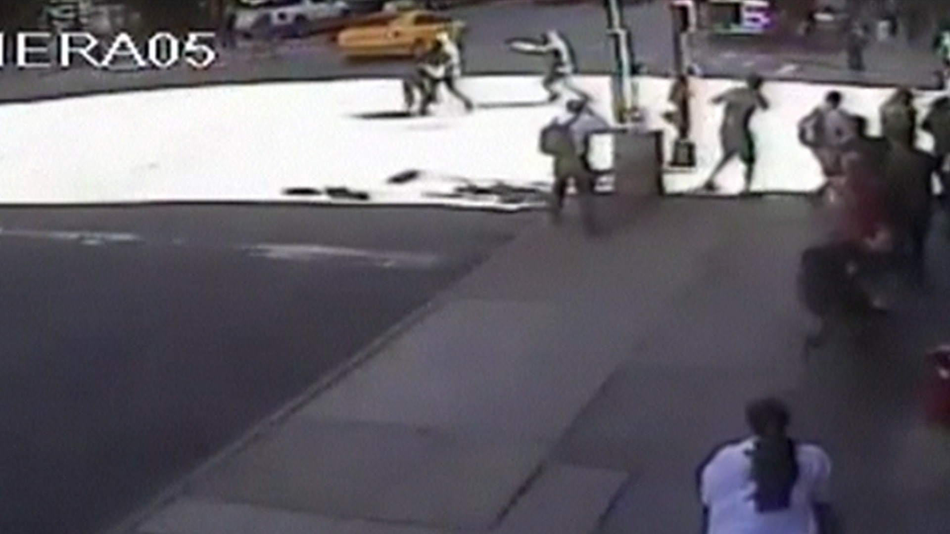 NYPD releases video of Midtown shooting