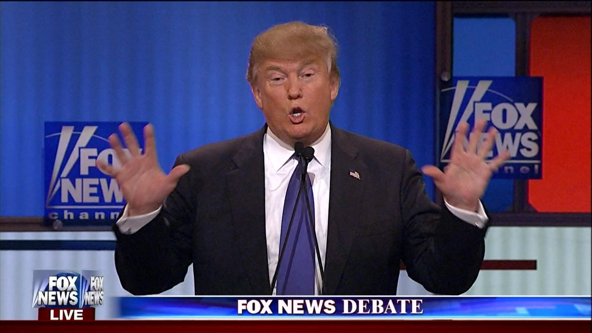 Trump: do these look like small hands?
