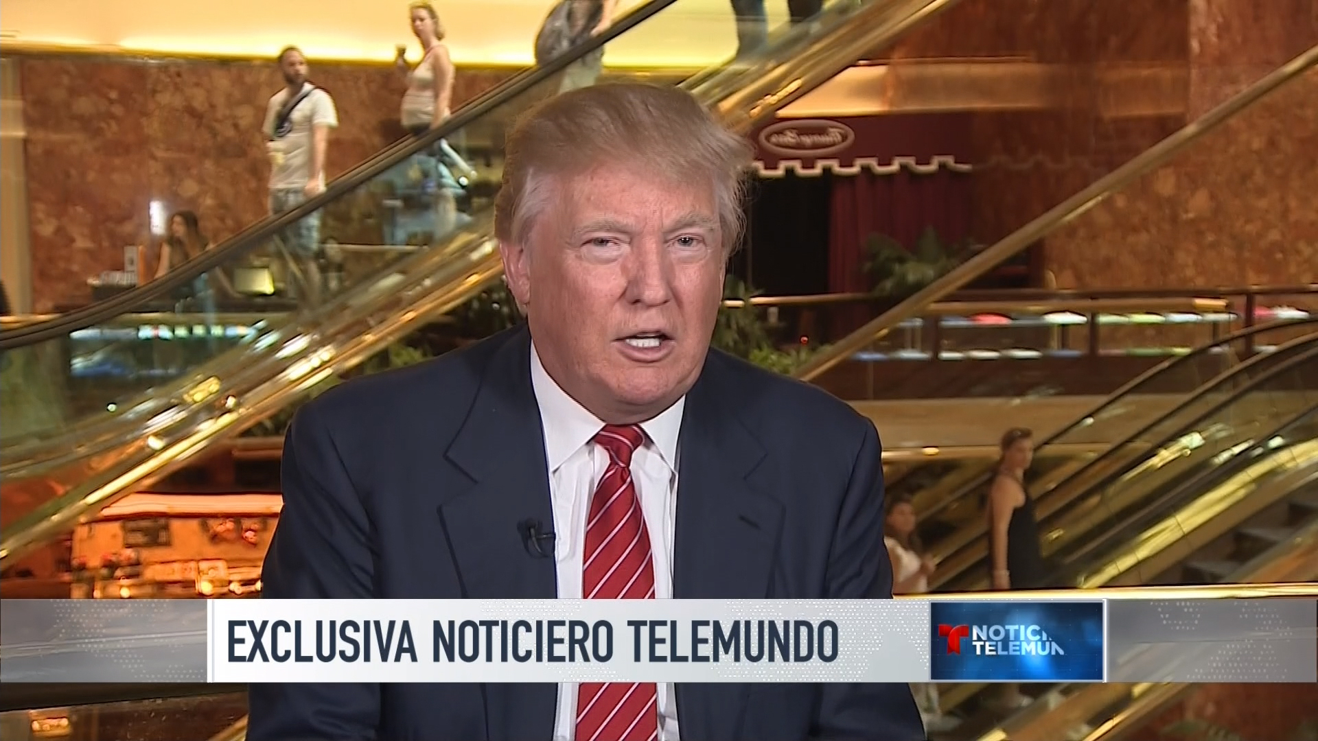 Jose Diaz-Balart speaks with Donald Trump