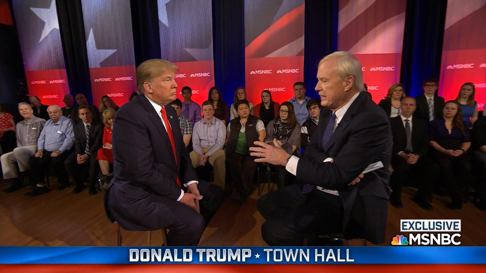 Highlights from Donald Trump's MSNBC town...