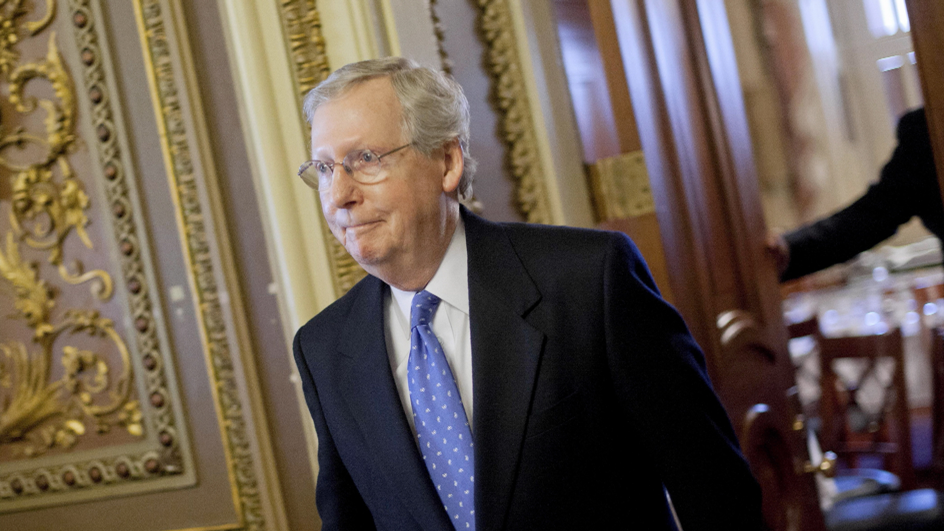 Why is Mitch McConnell in trouble?