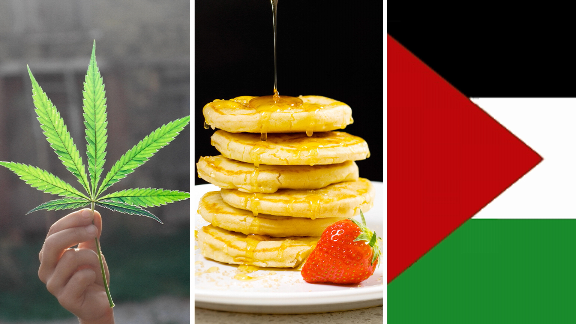 Pot, pancakes and Palestine