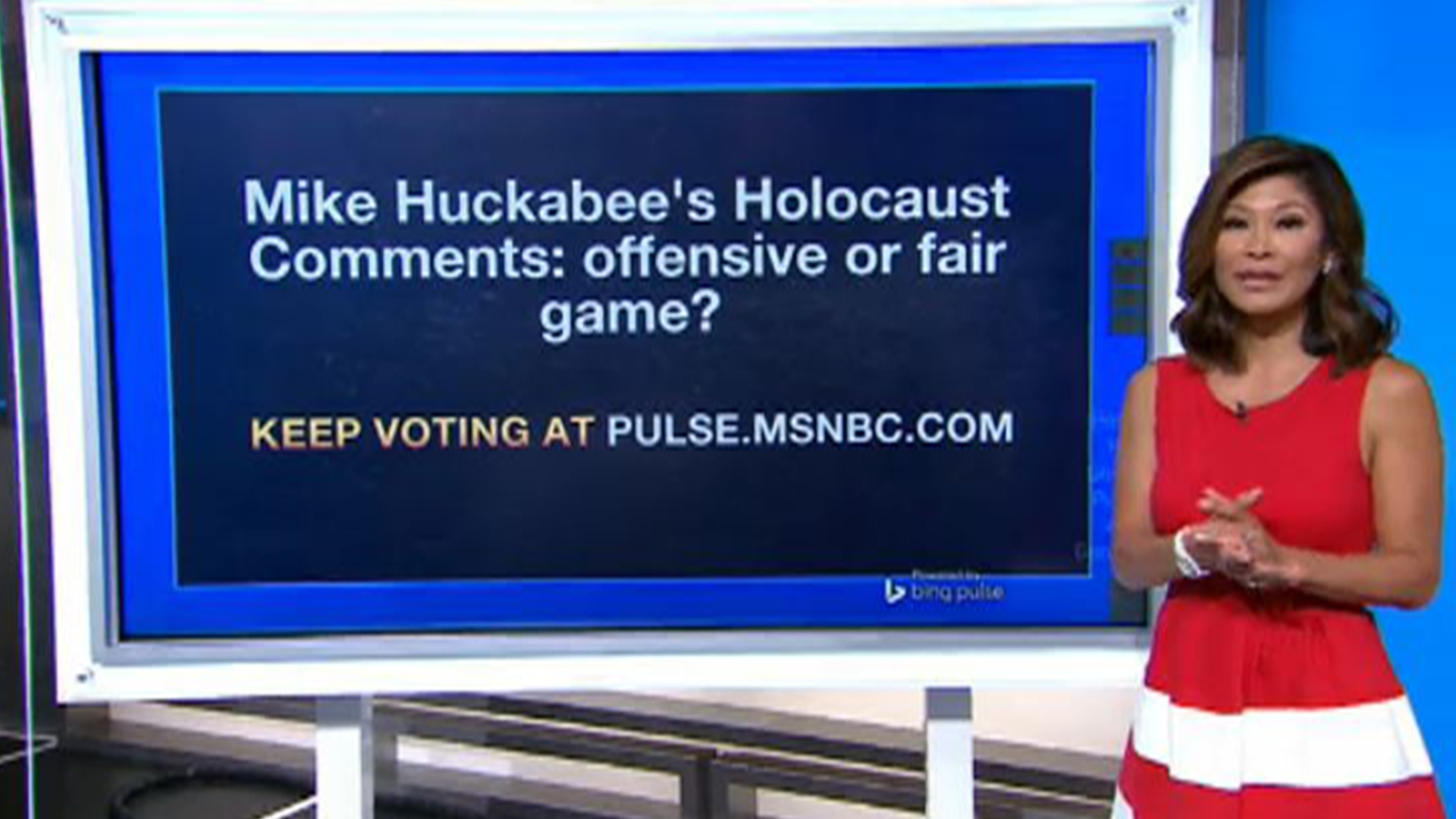 Mike Huckabee's Holocaust comments