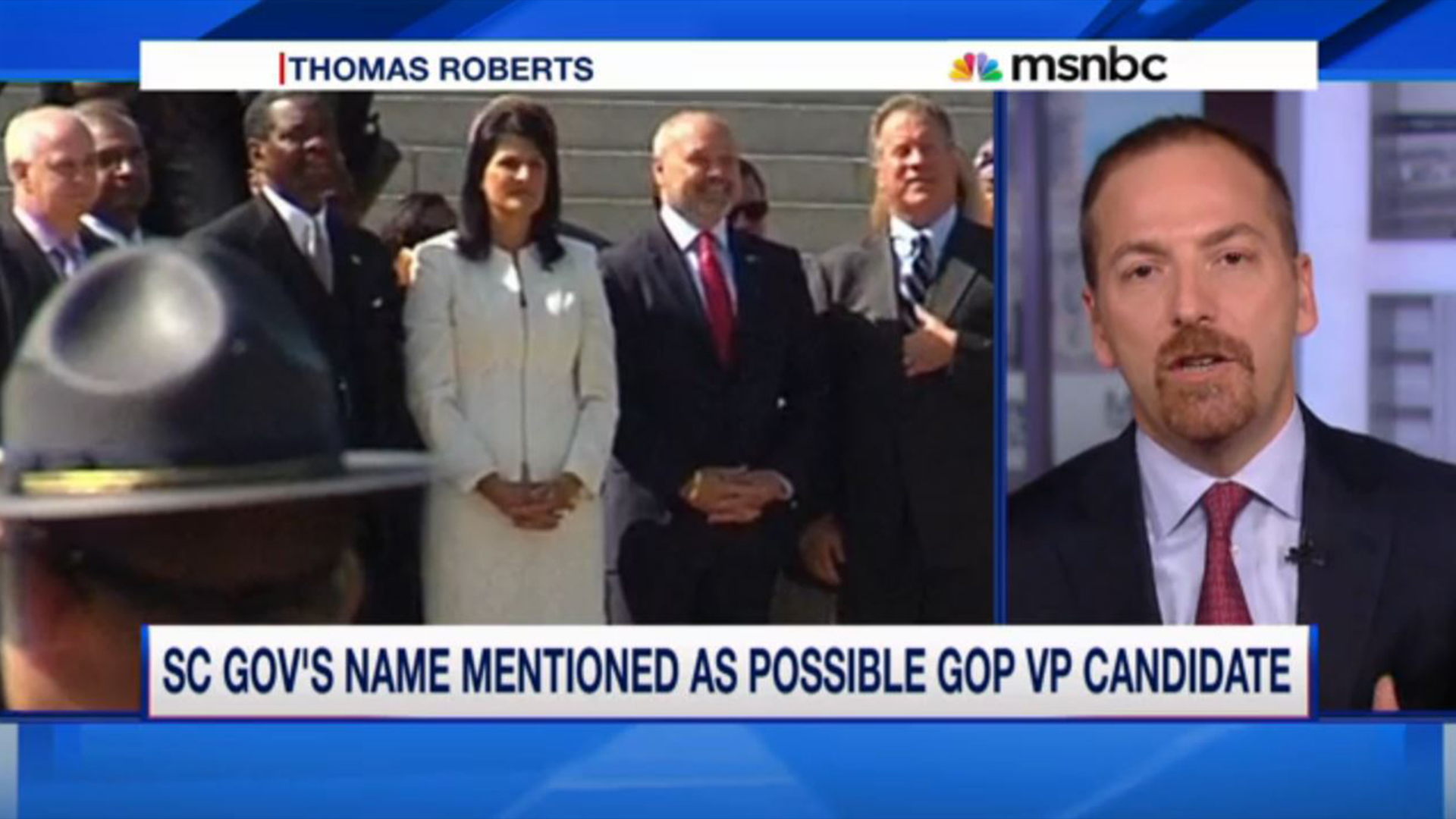 SC gov mentioned as possible GOP VP candidate