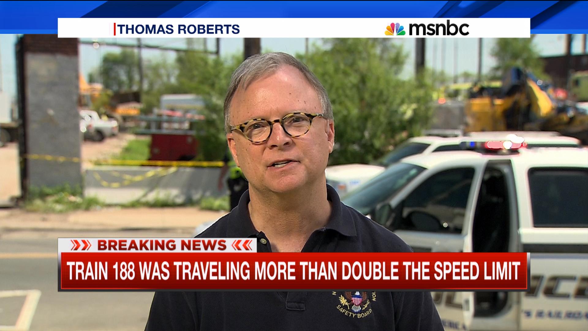 NTSB investigates Amtrak crash