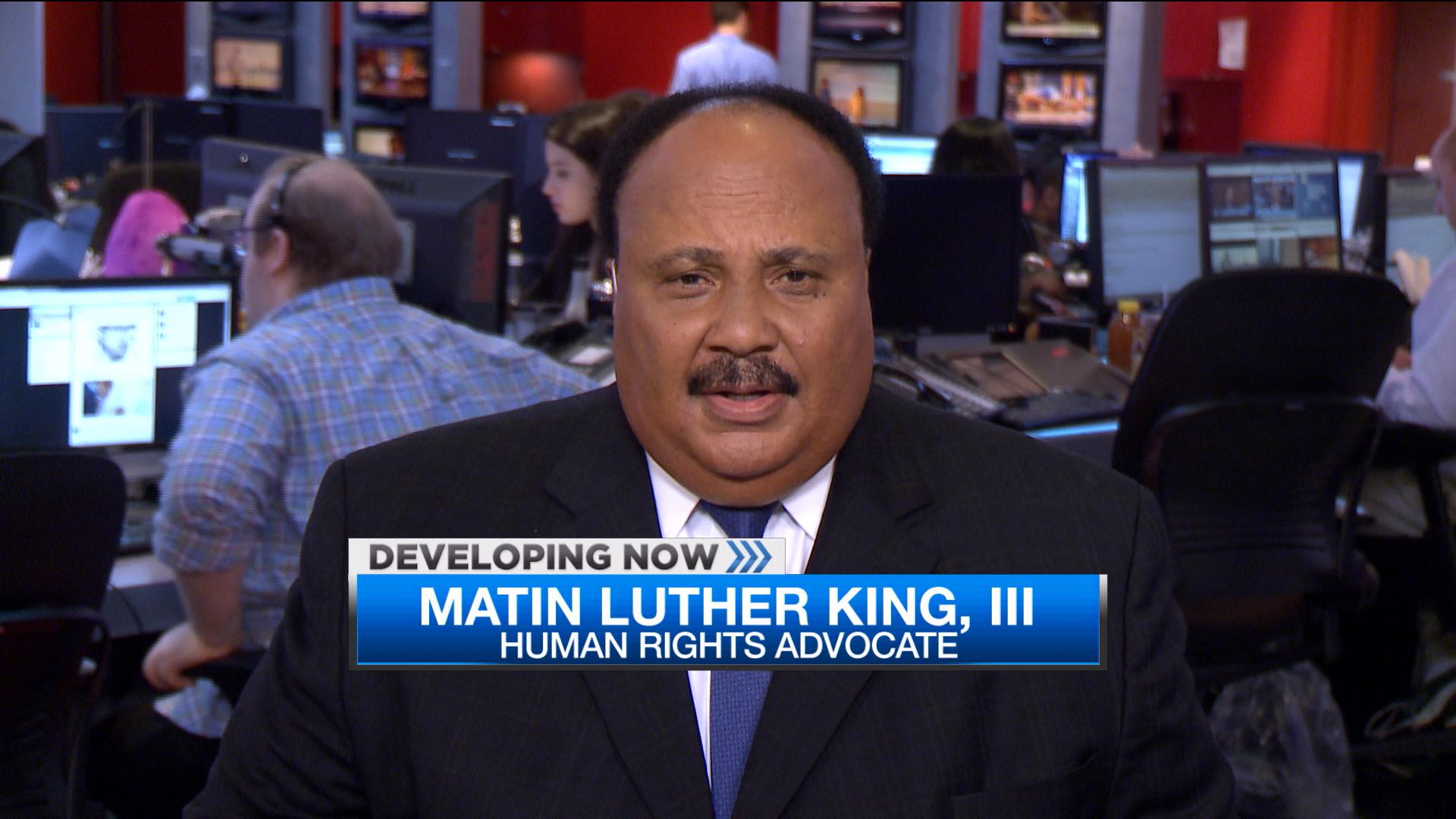 MLK III: US embraces a culture of violence