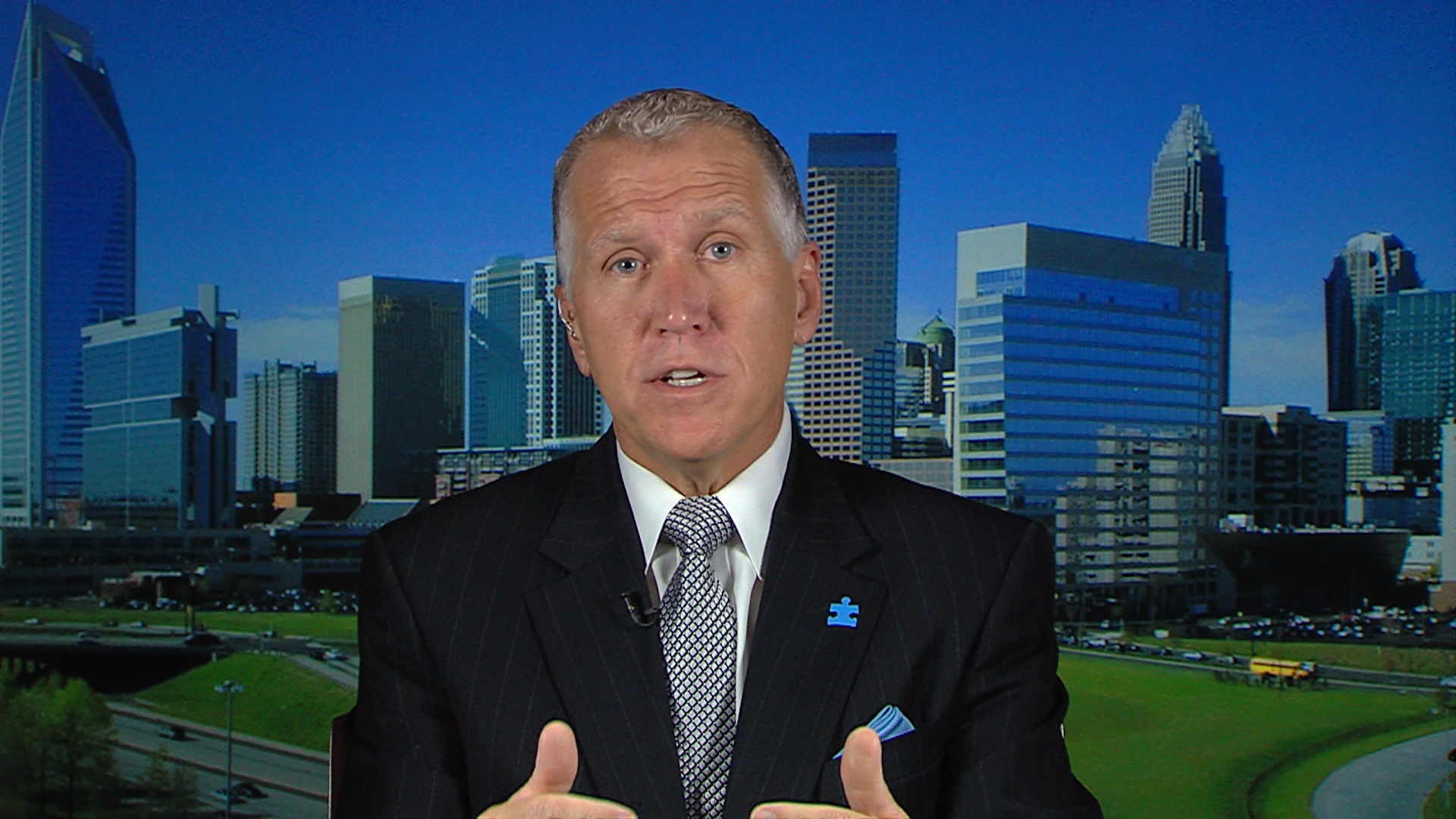 Tillis: I've been cleaning 'Kay Hagan's mess'