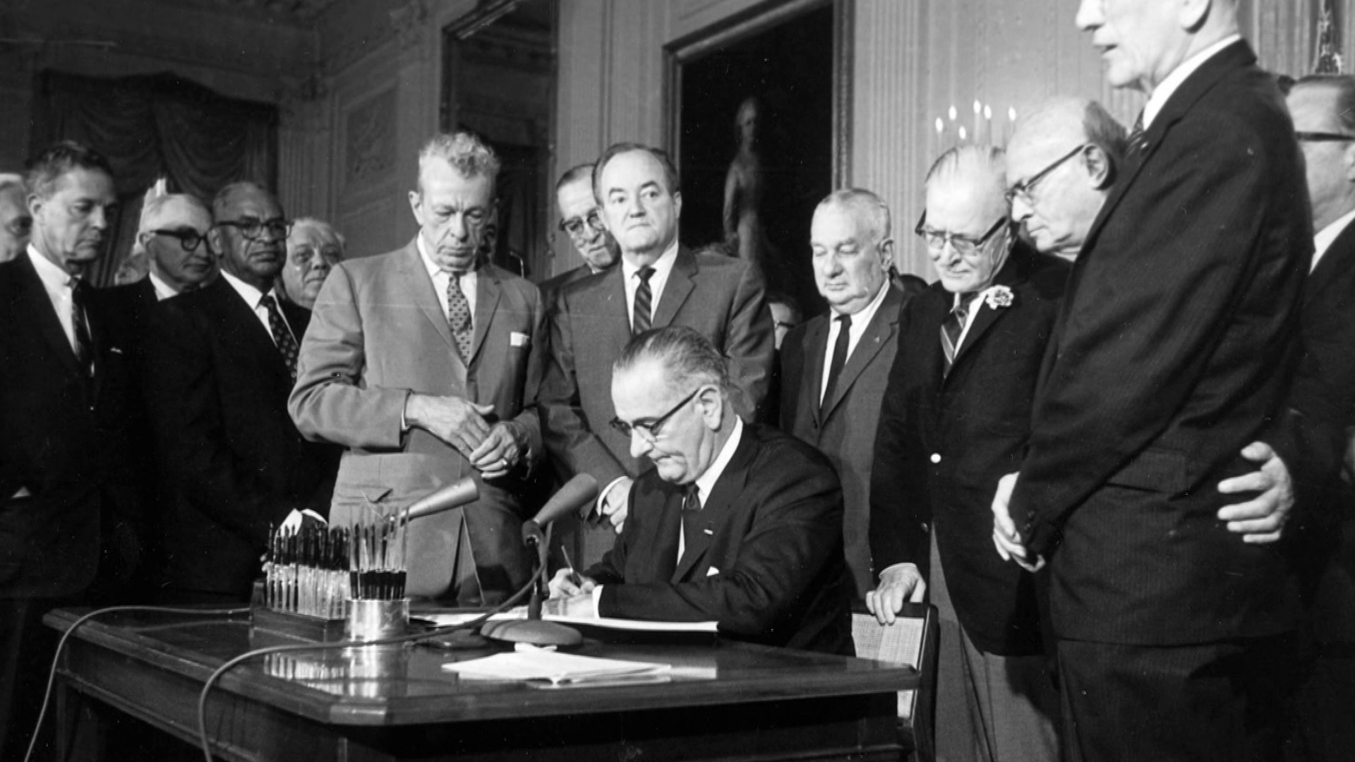 Looking back at LBJ's progressive policies