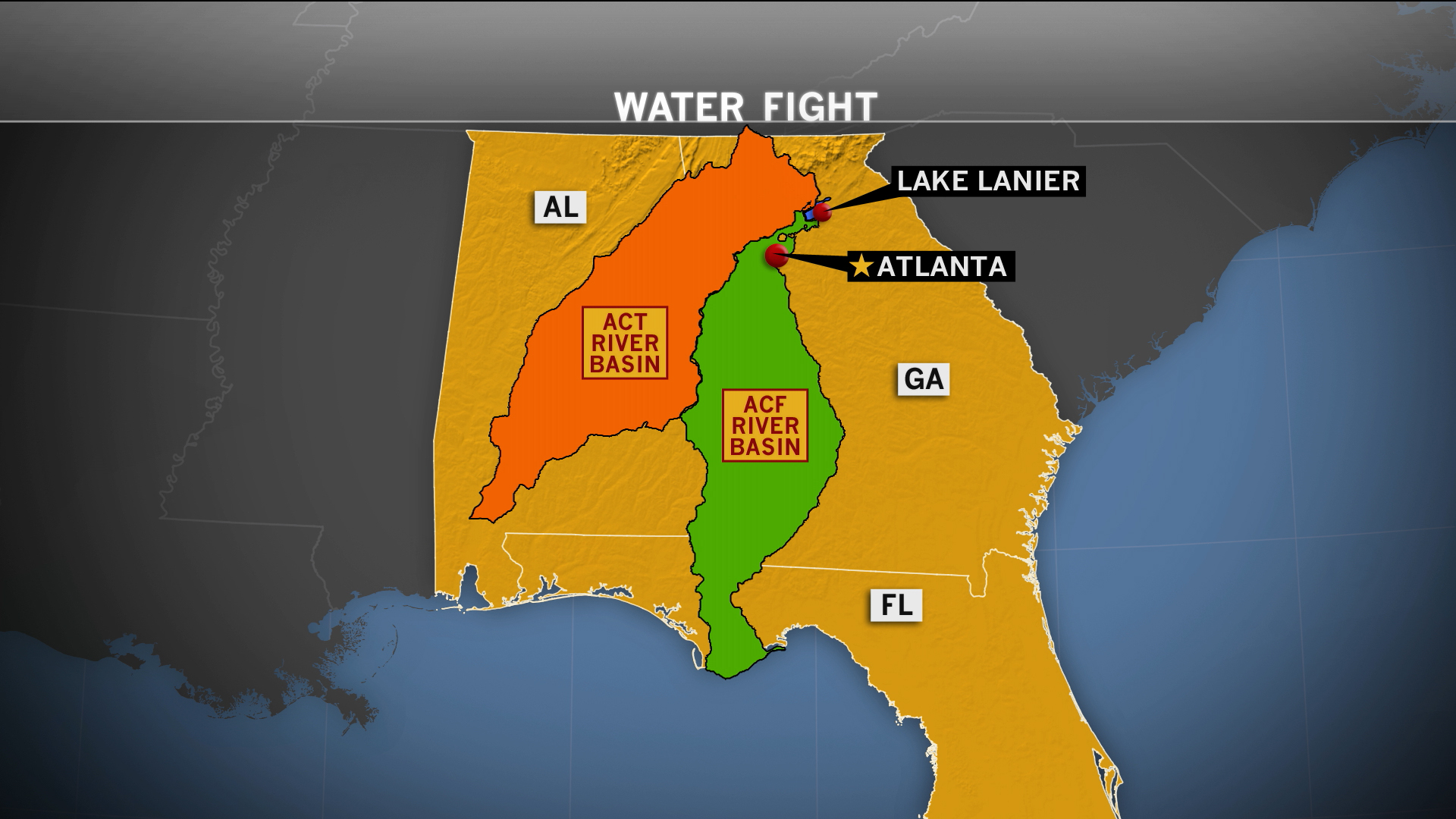 A war over water in the South