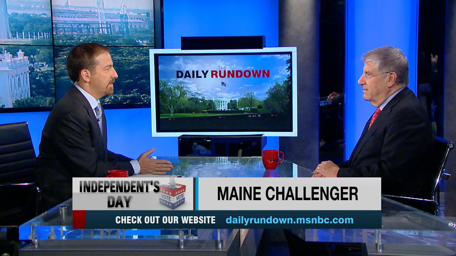 Maine gubernatorial race heats up