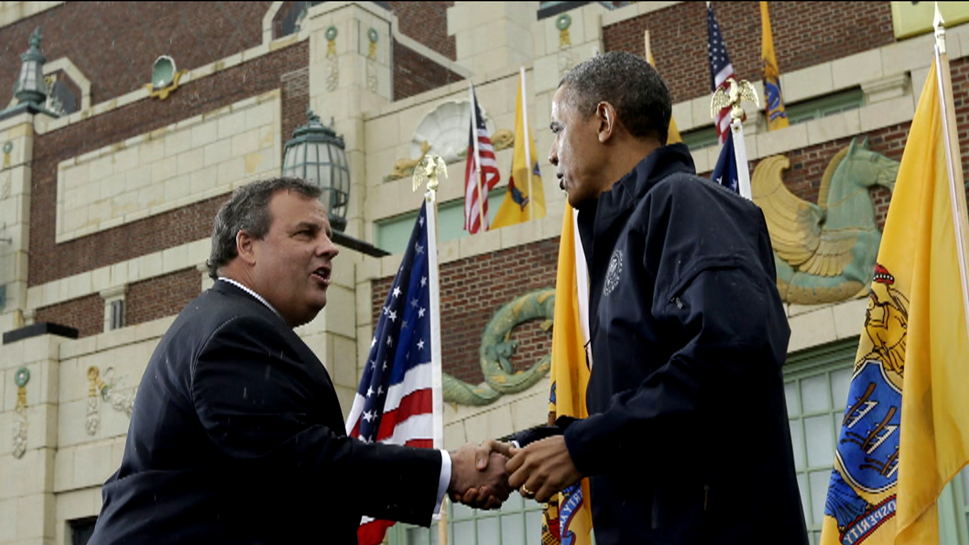 Christie makes Sunday talk show rounds