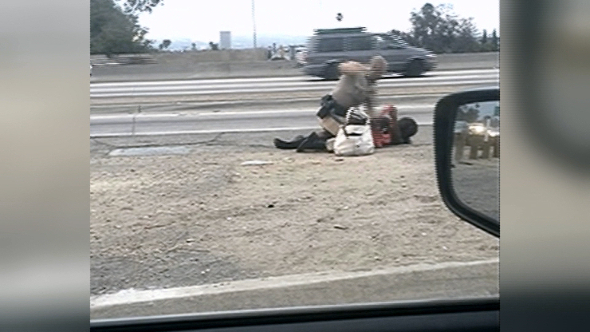 Investigation underway in CA highway beating