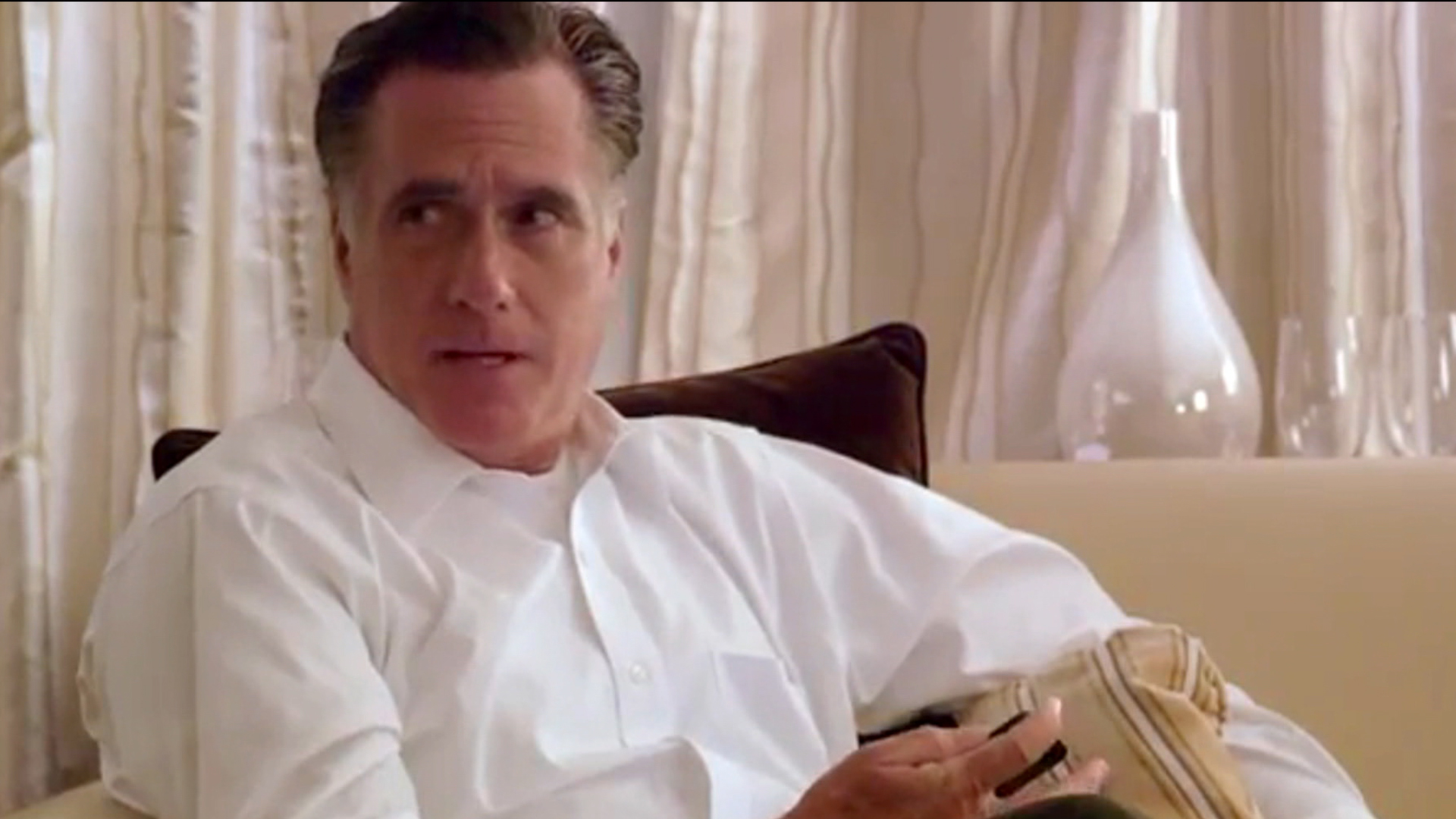Behind the scenes with Mitt
