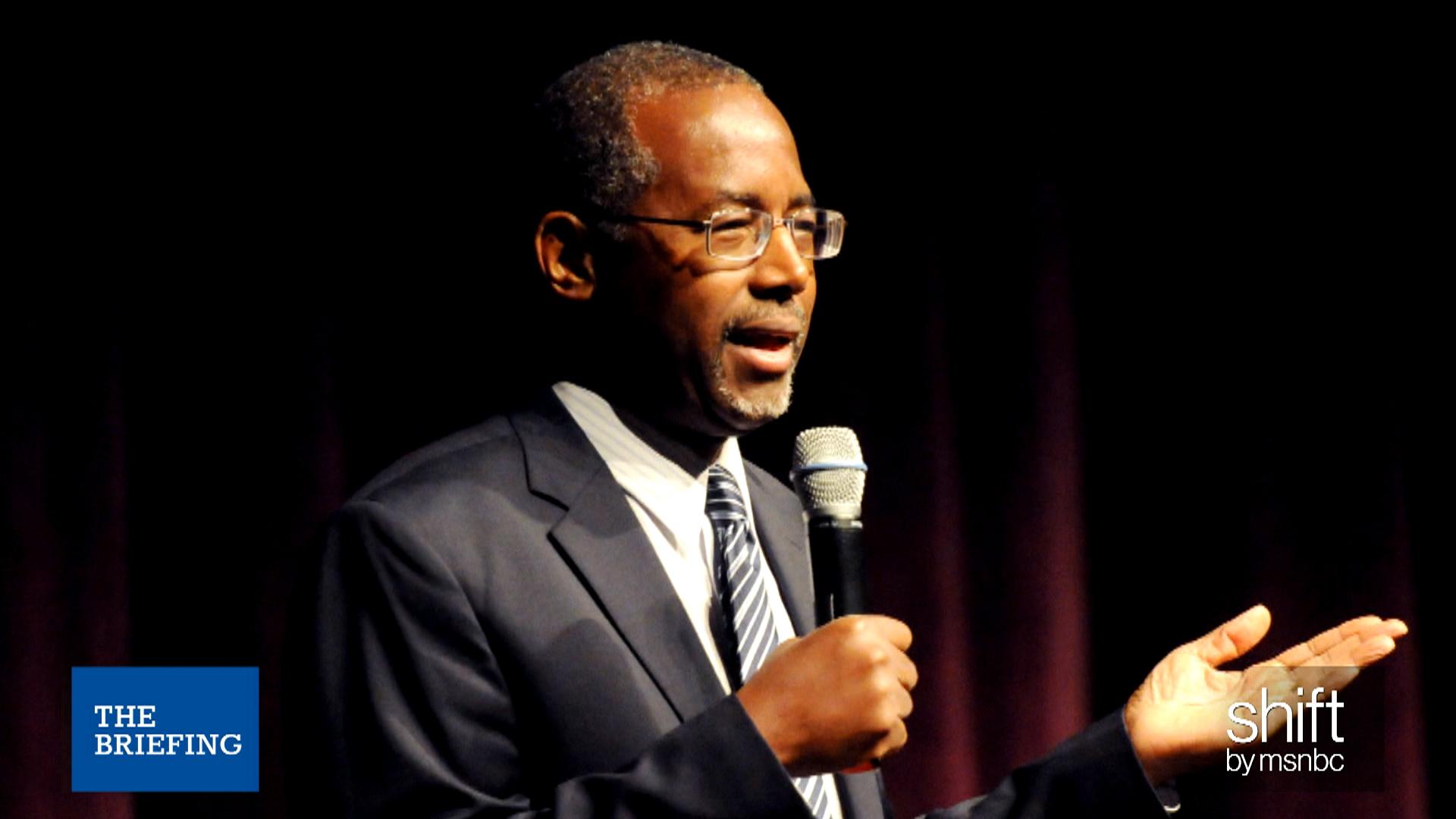 Will Carson's views alienate voters?