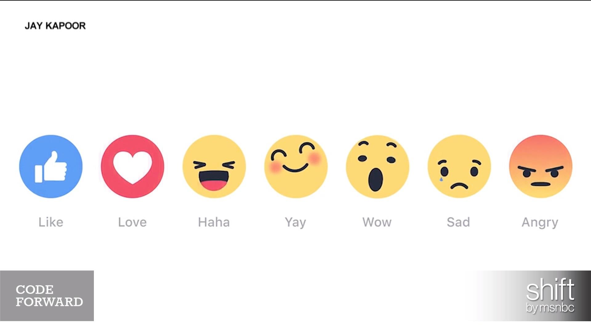 Omg Facebook Rolls Out Emoji Reactions