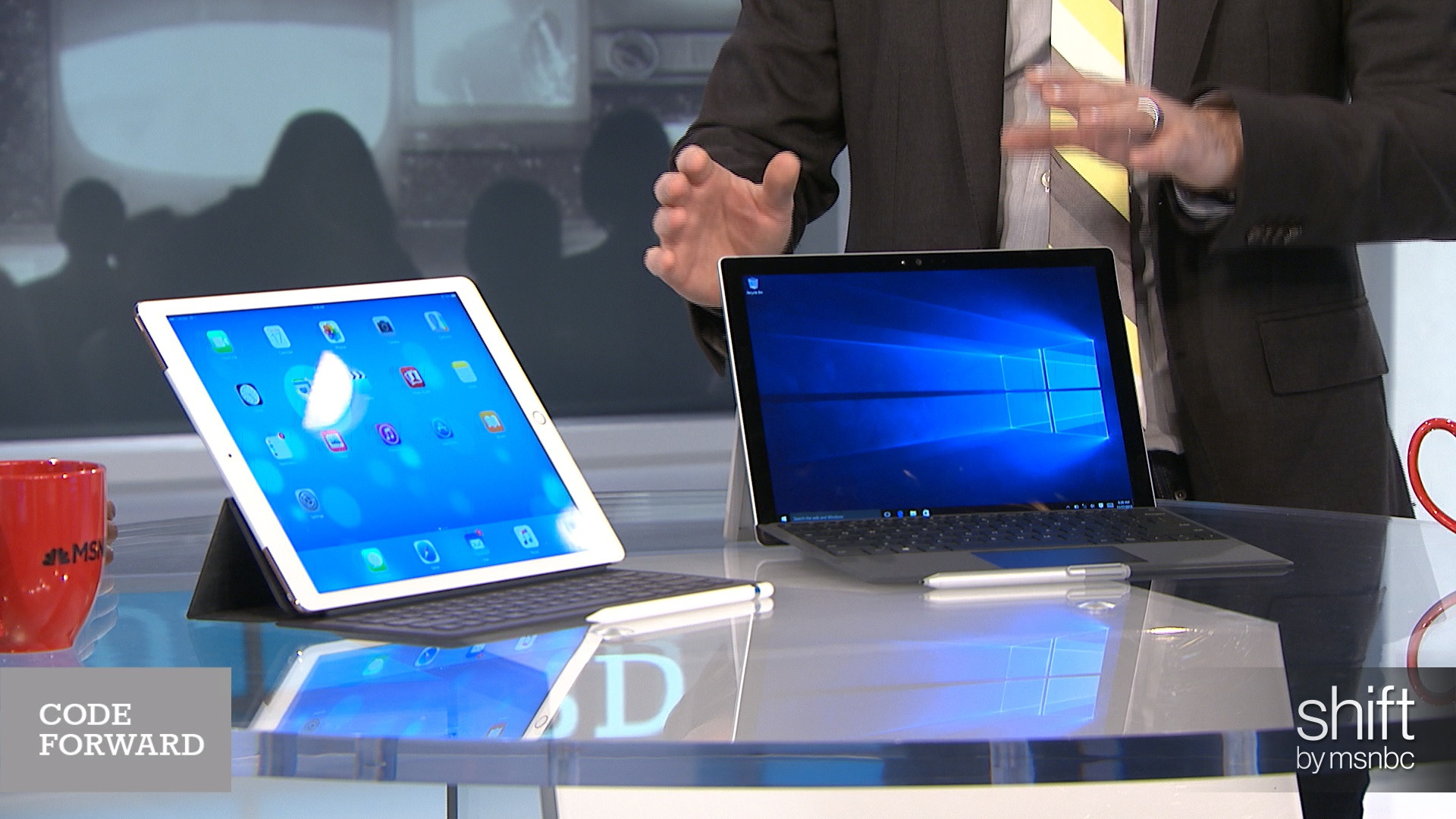 Tablet wars! Apple versus Microsoft