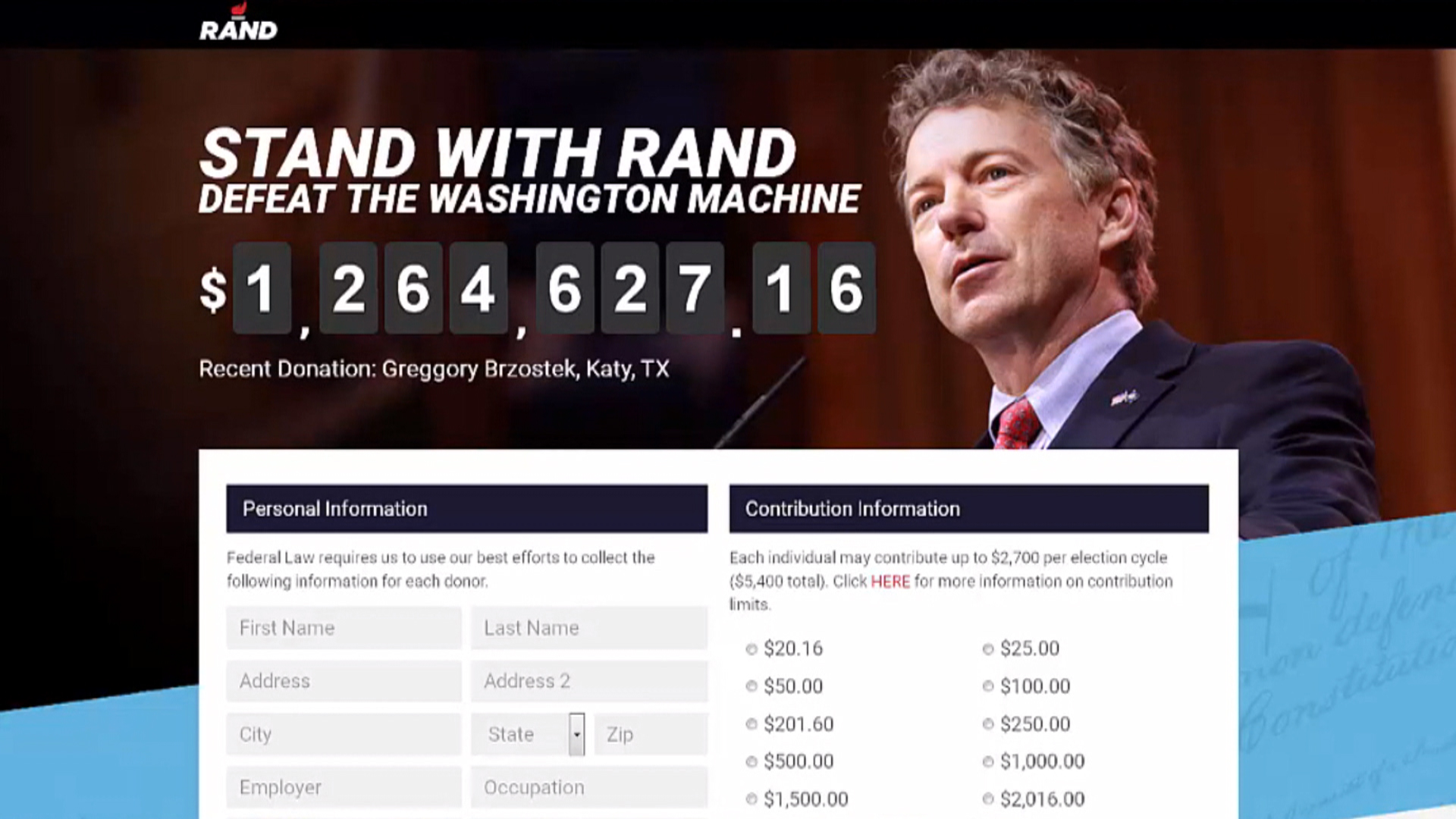 The power of Rand Paul's digital brand