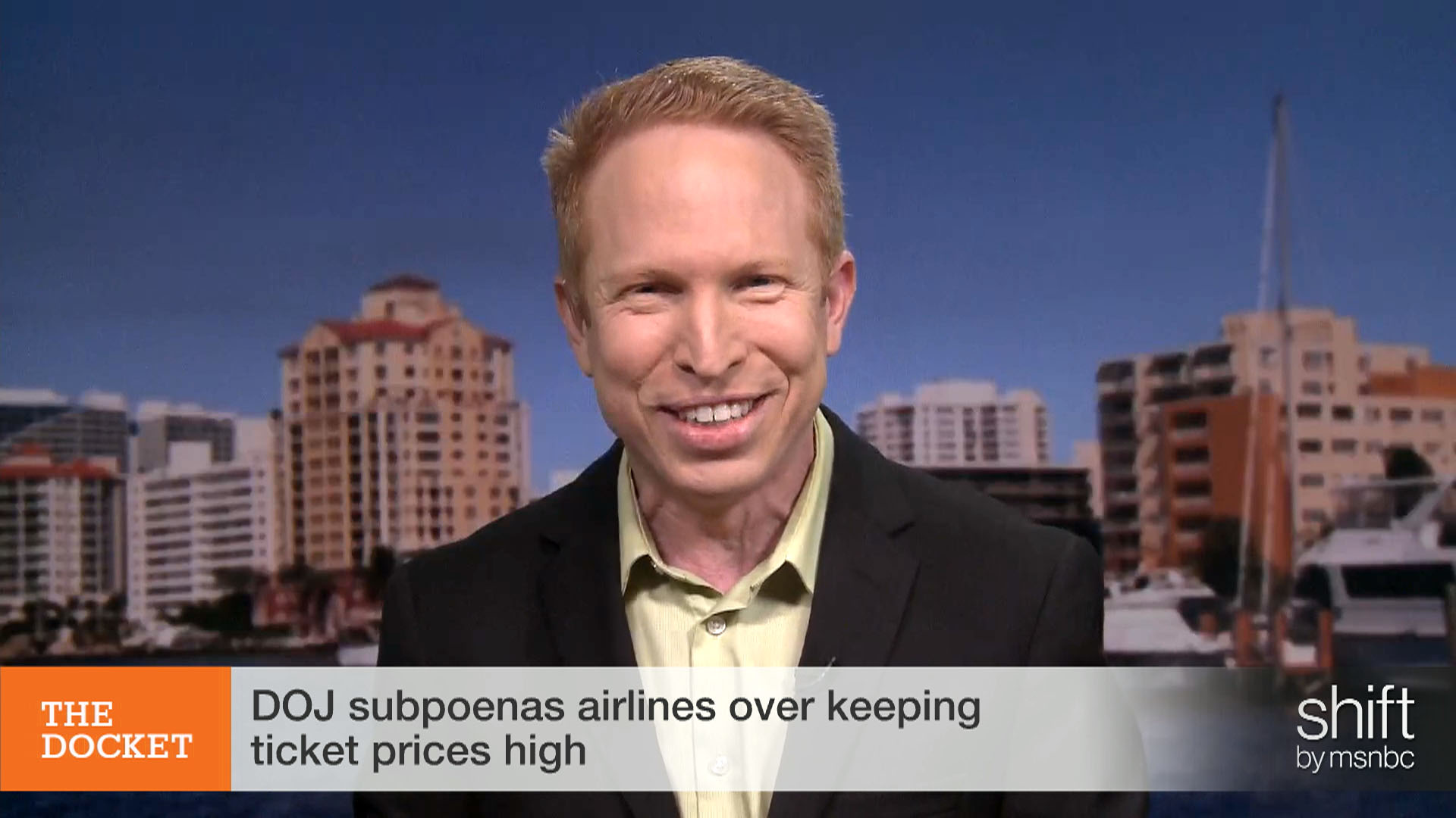 Airlines, yes, less competitive but...