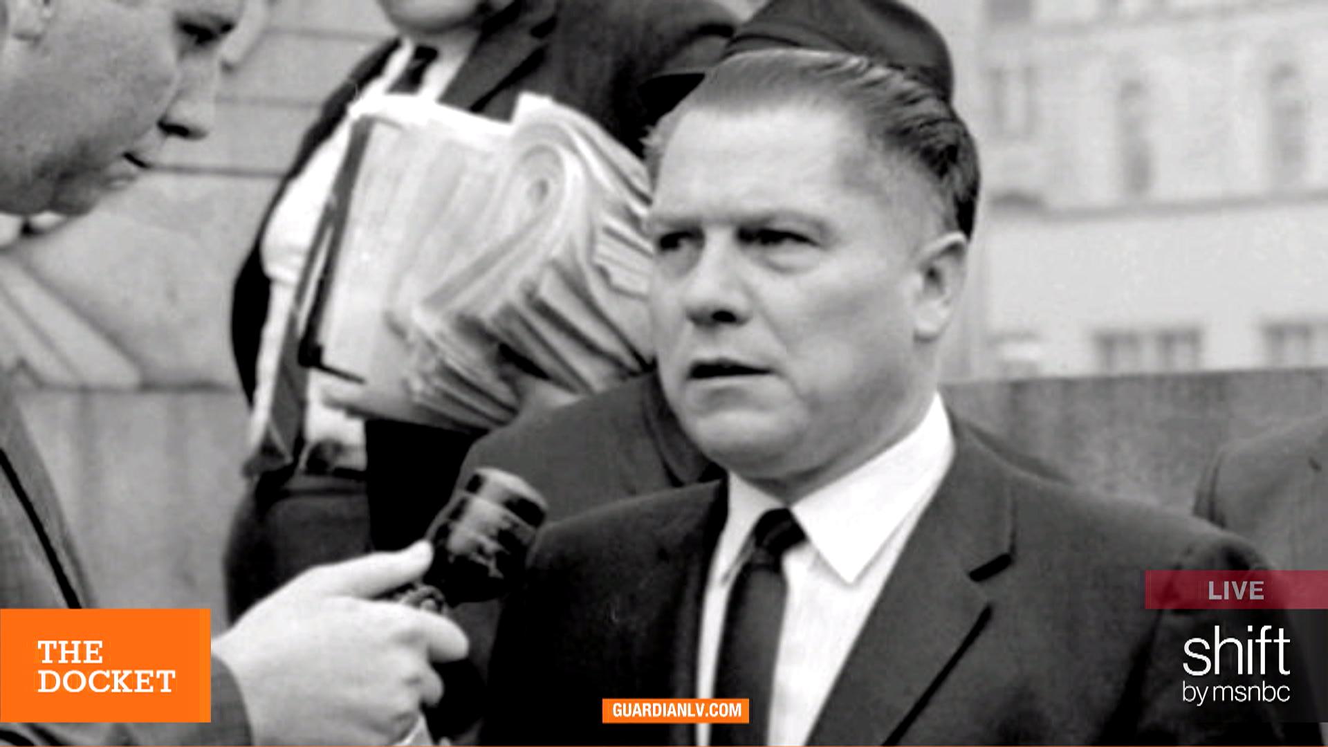 Who killed Jimmy Hoffa 40 years ago?