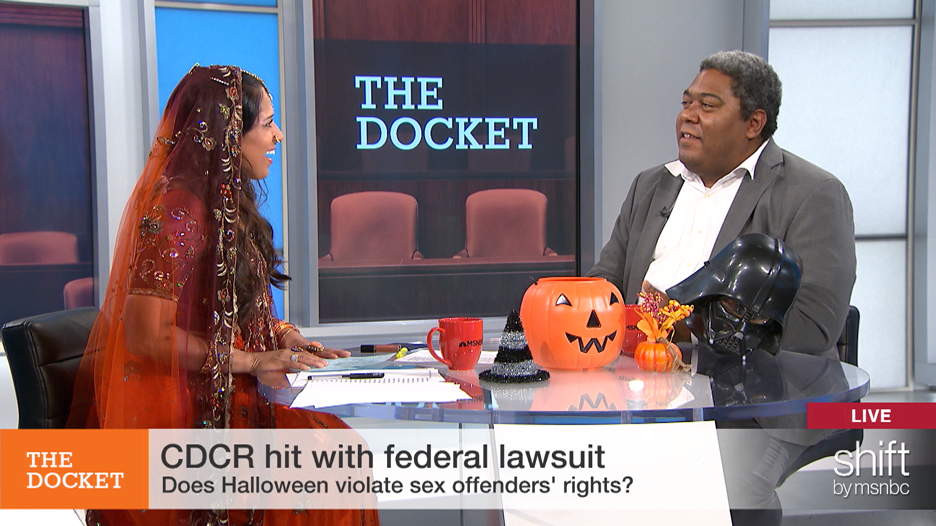 Does Halloween violate sex offenders' rights?