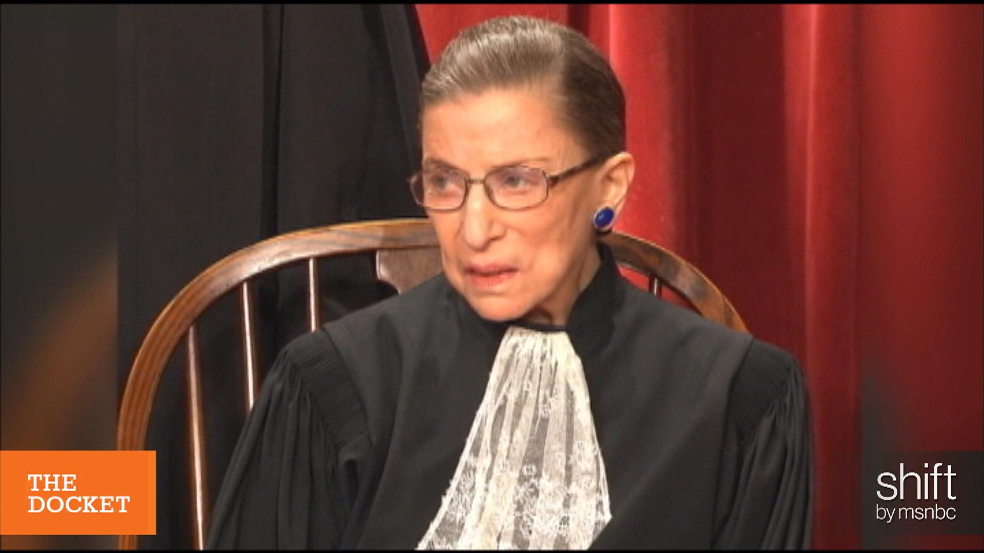 SCOTUS Notice: RBG isn't even pretending...