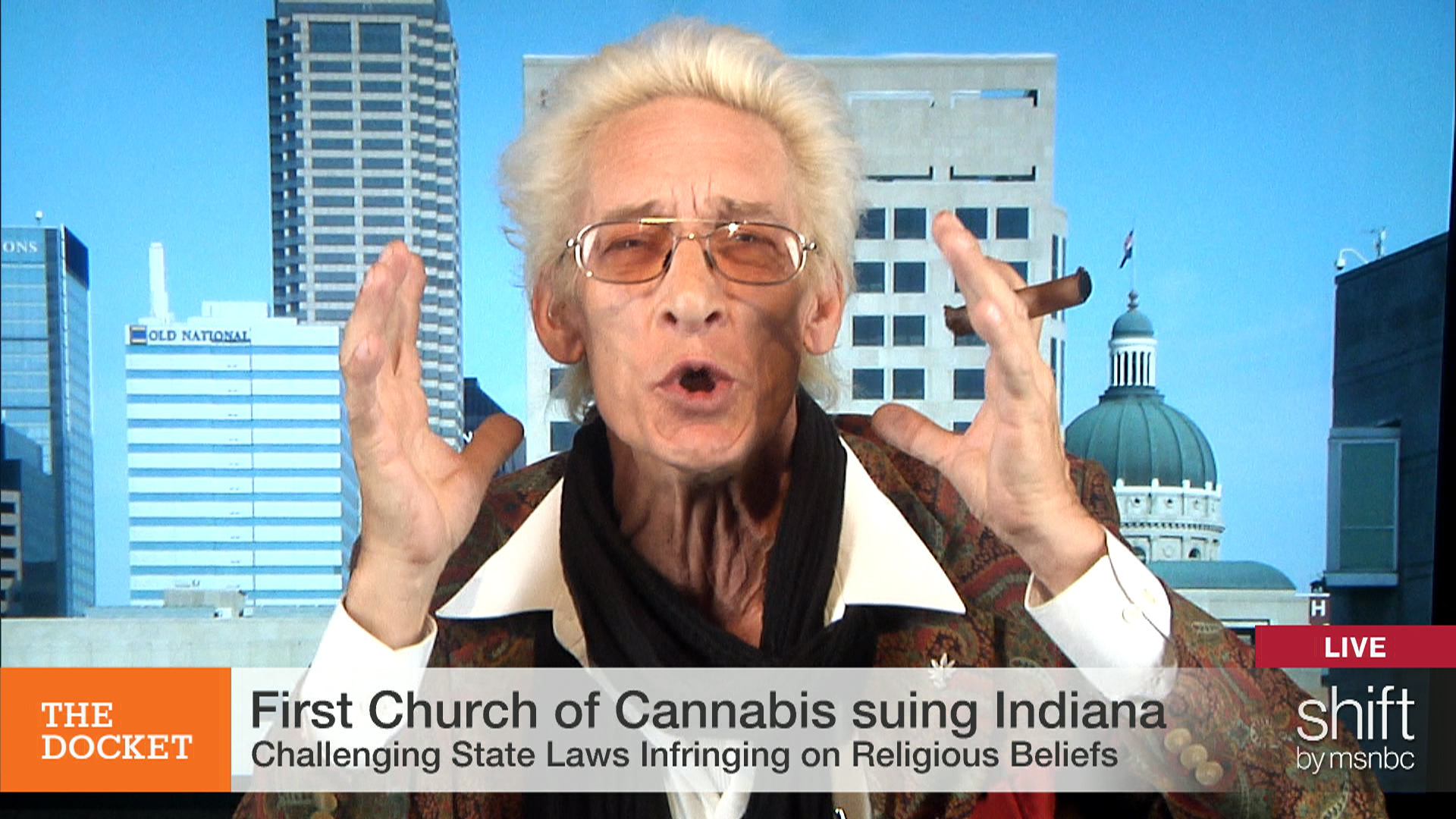 Grand Poobah  preaches love, weed, and RFRA