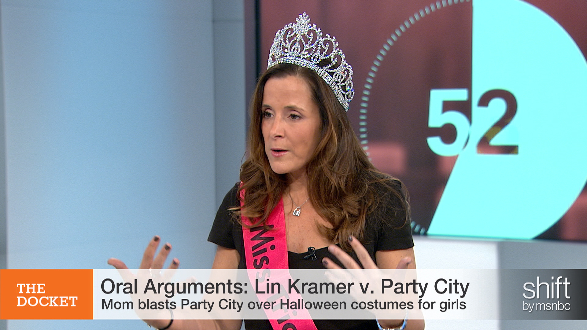 Oral Arguments: Mom v. Party City costumes