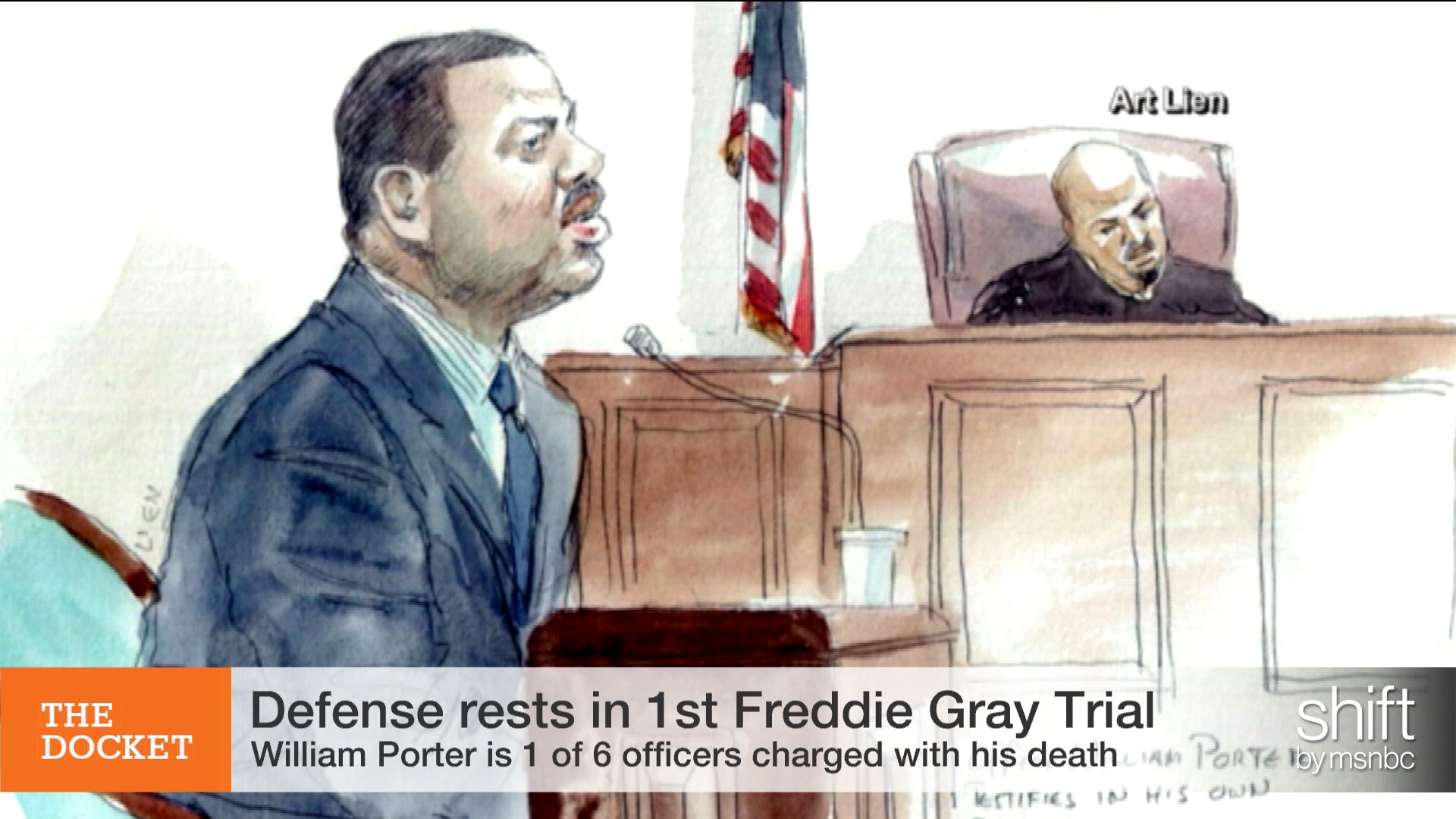 Trial against first Baltimore cop wraps