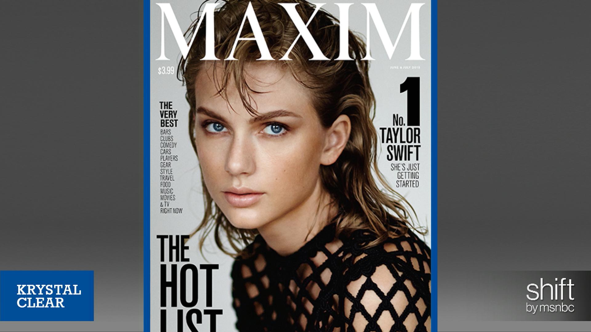 Taylor Swift explains feminism to Maxim