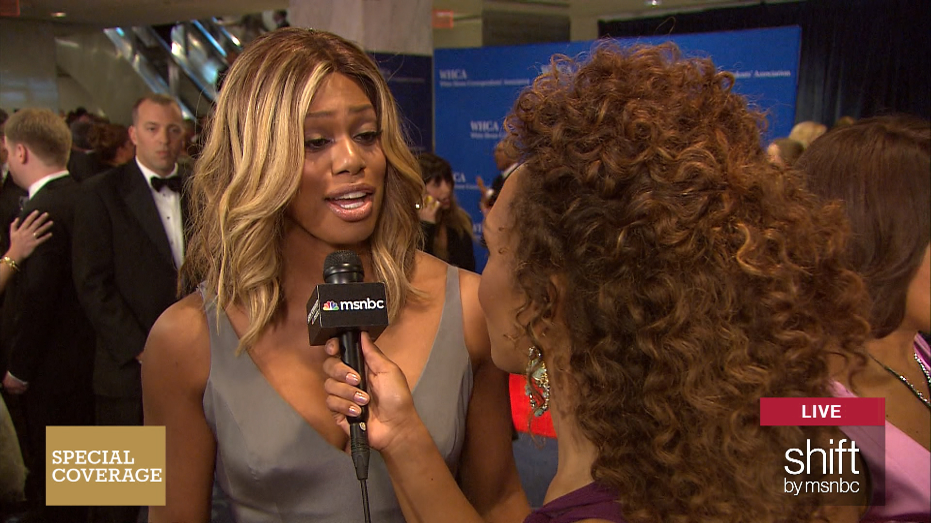 Laverne Cox comments on Jenner interview