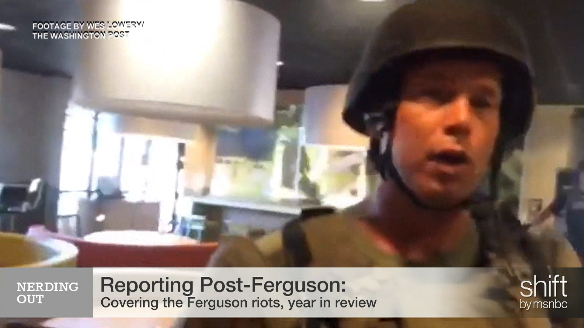 "The ""ripple effect"" of reporting Ferguson"