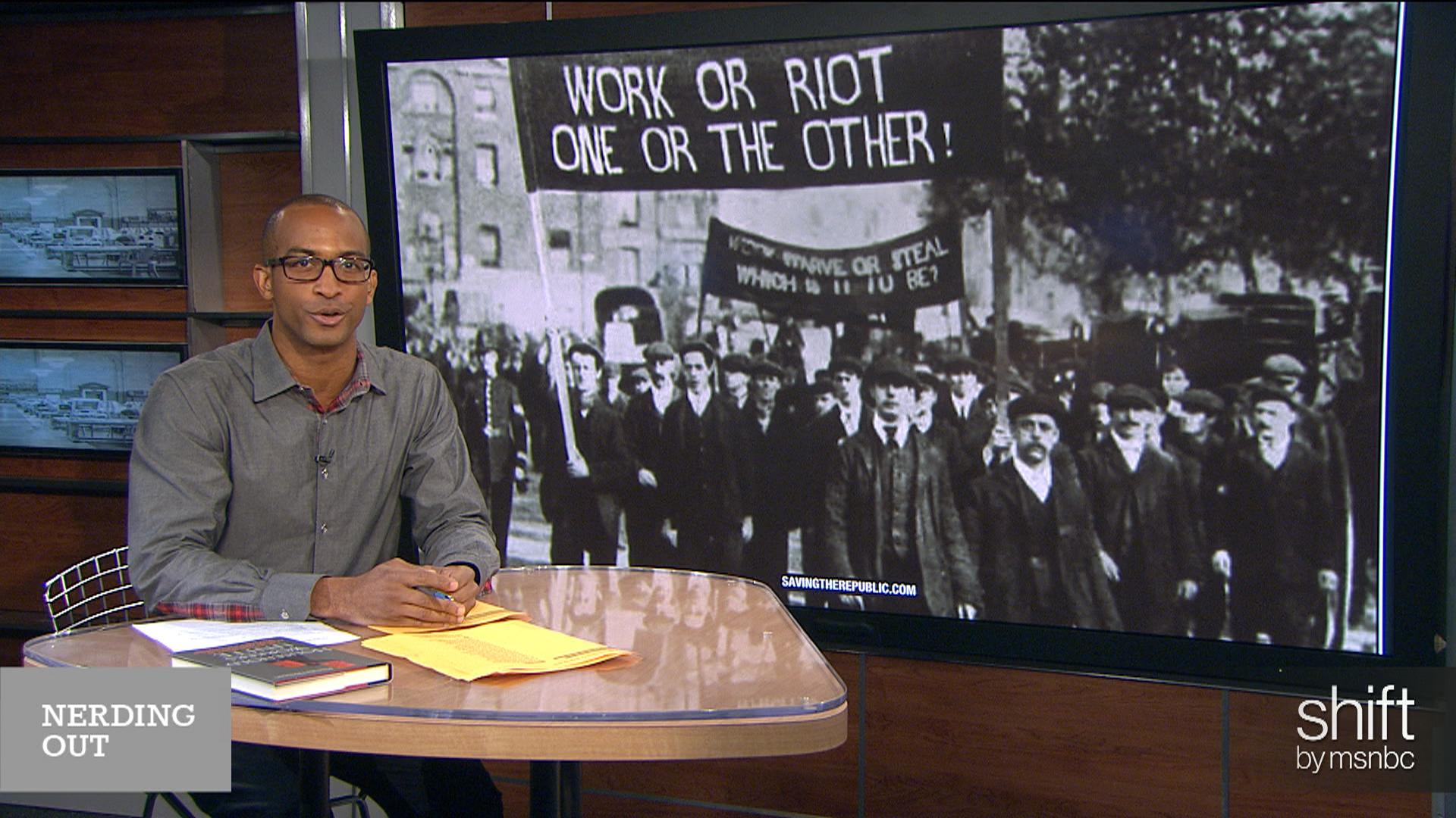 Timeline of U.S. Labor: Work or riot!