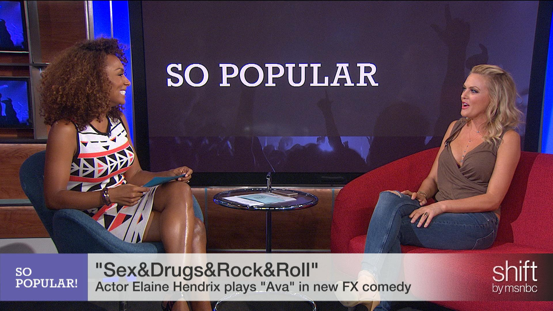 Elaine Hendrix talks 'Sex&Drugs&Rock&Roll'