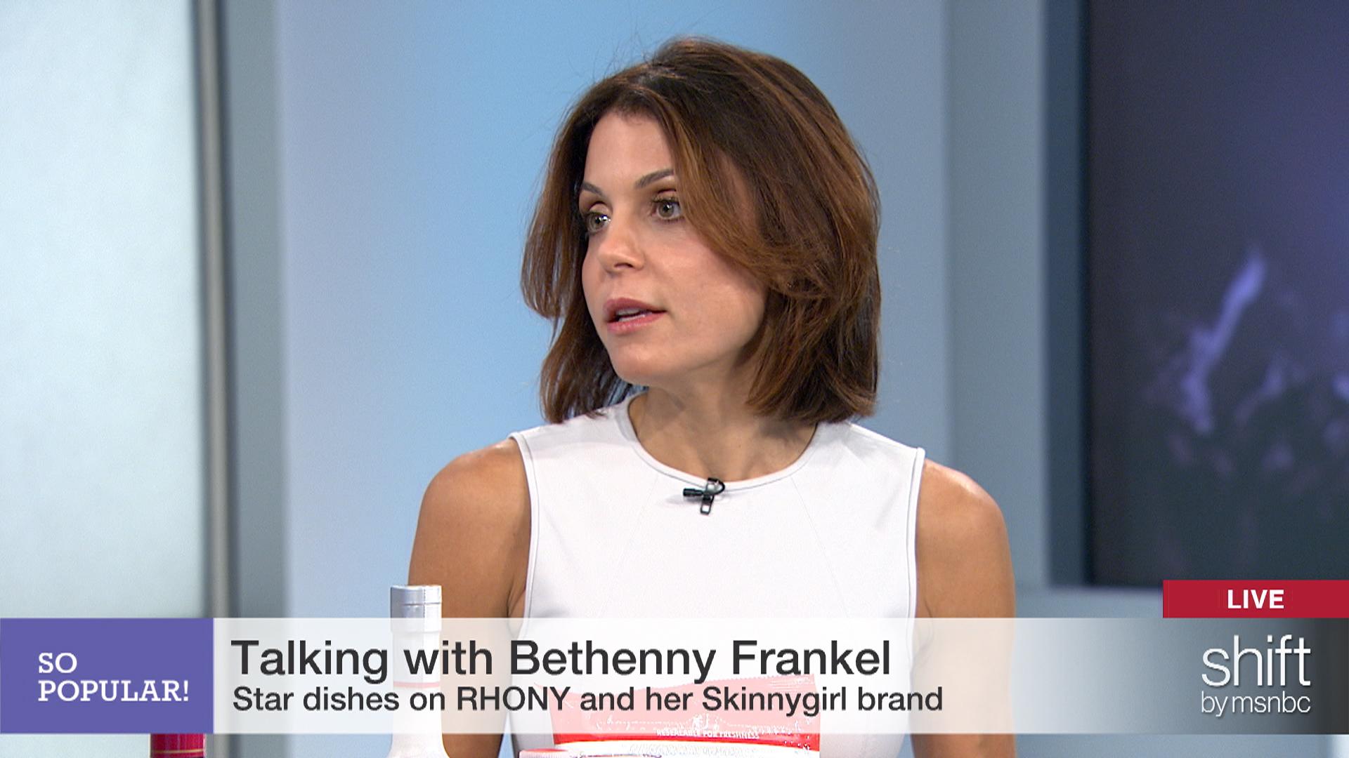Bethenny Frankel talks self-made business