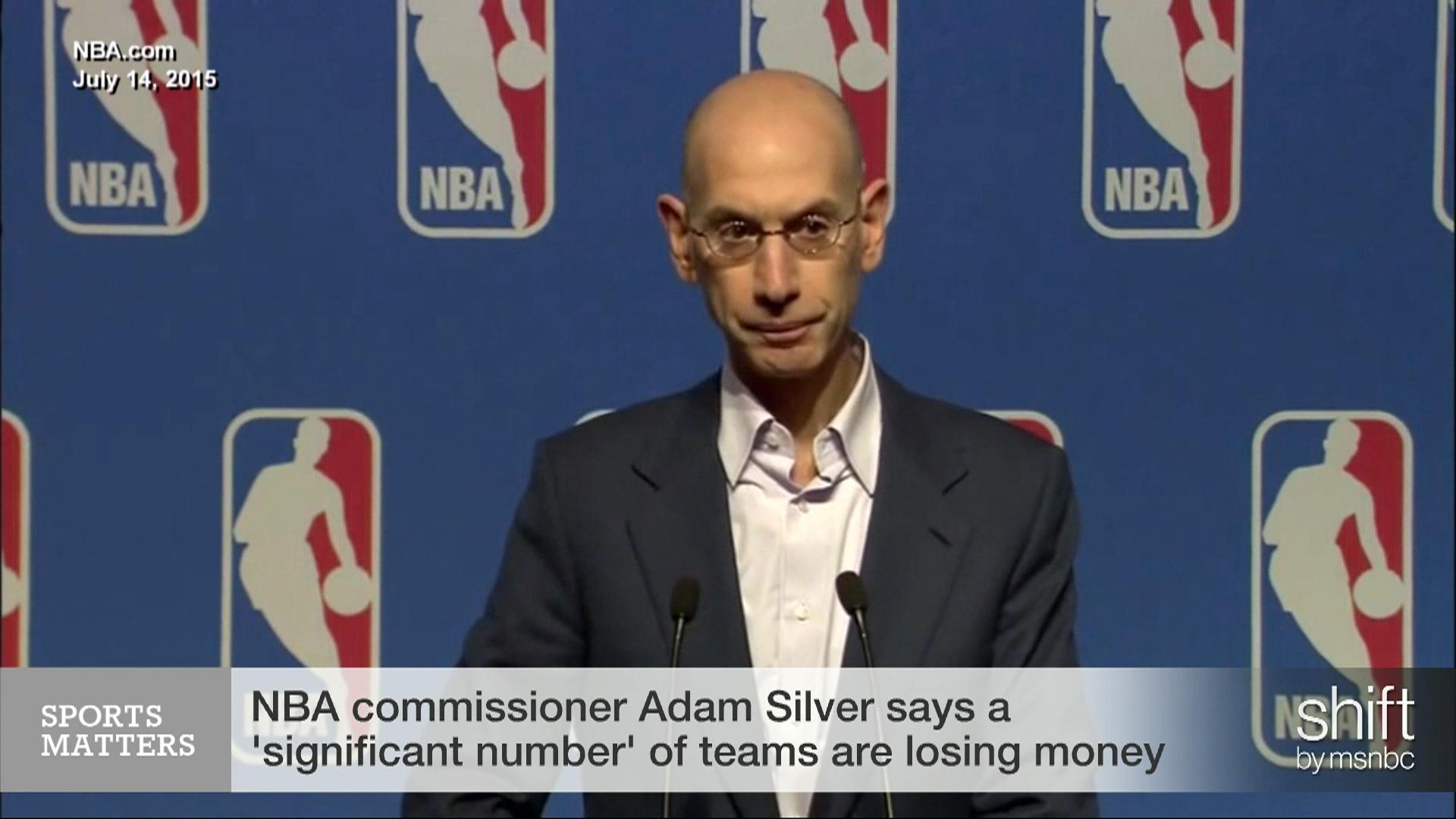 NBA teams losing money? Cue labor disputes