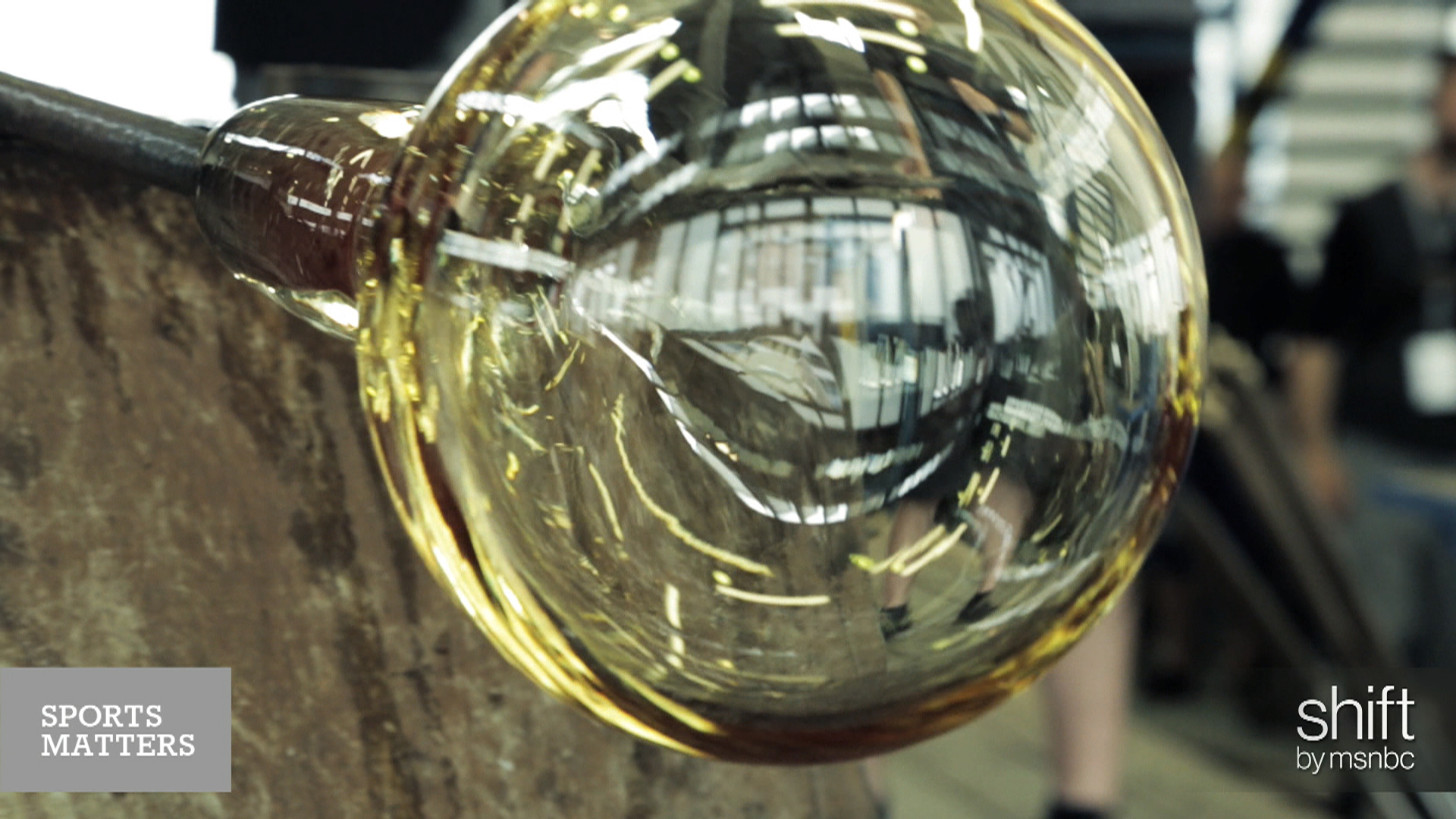 In the making: Tour de France crystal...