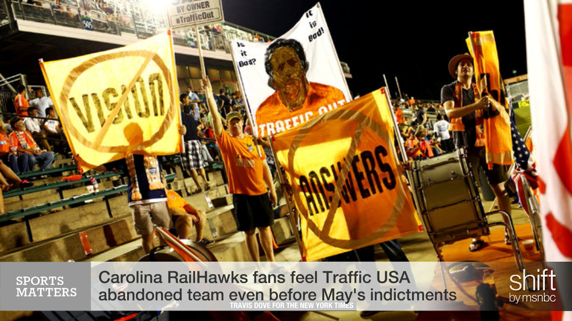 Cary, NC rocked by FIFA Corruption