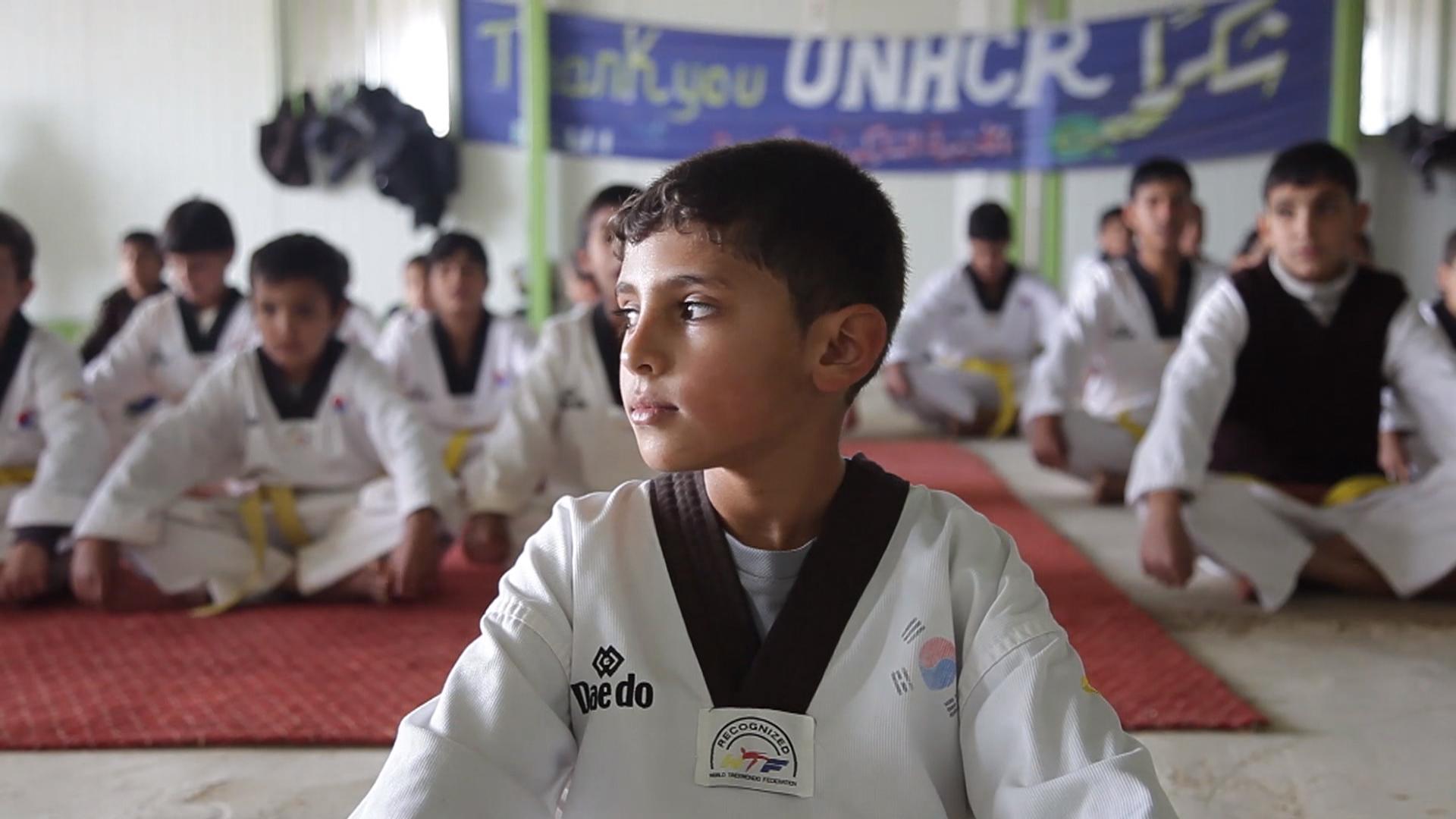 Taekwondo heals children of Zaatari