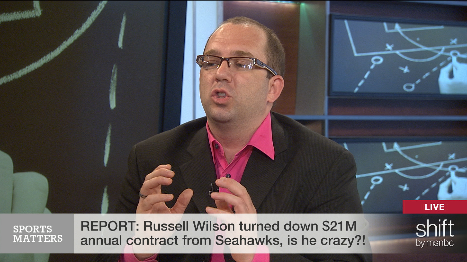 Should Russell Wilson have taken the money...